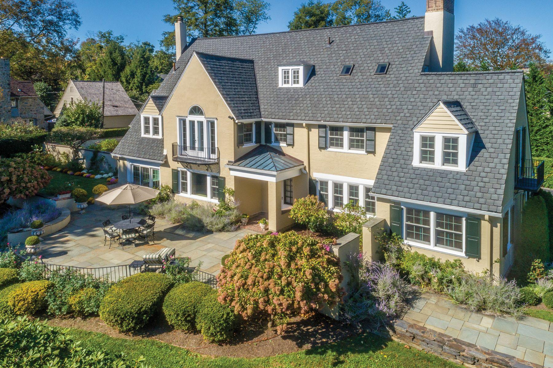 Single Family Homes por un Venta en 500 GLENVIEW RD Bryn Mawr, Pennsylvania 19010 Estados Unidos