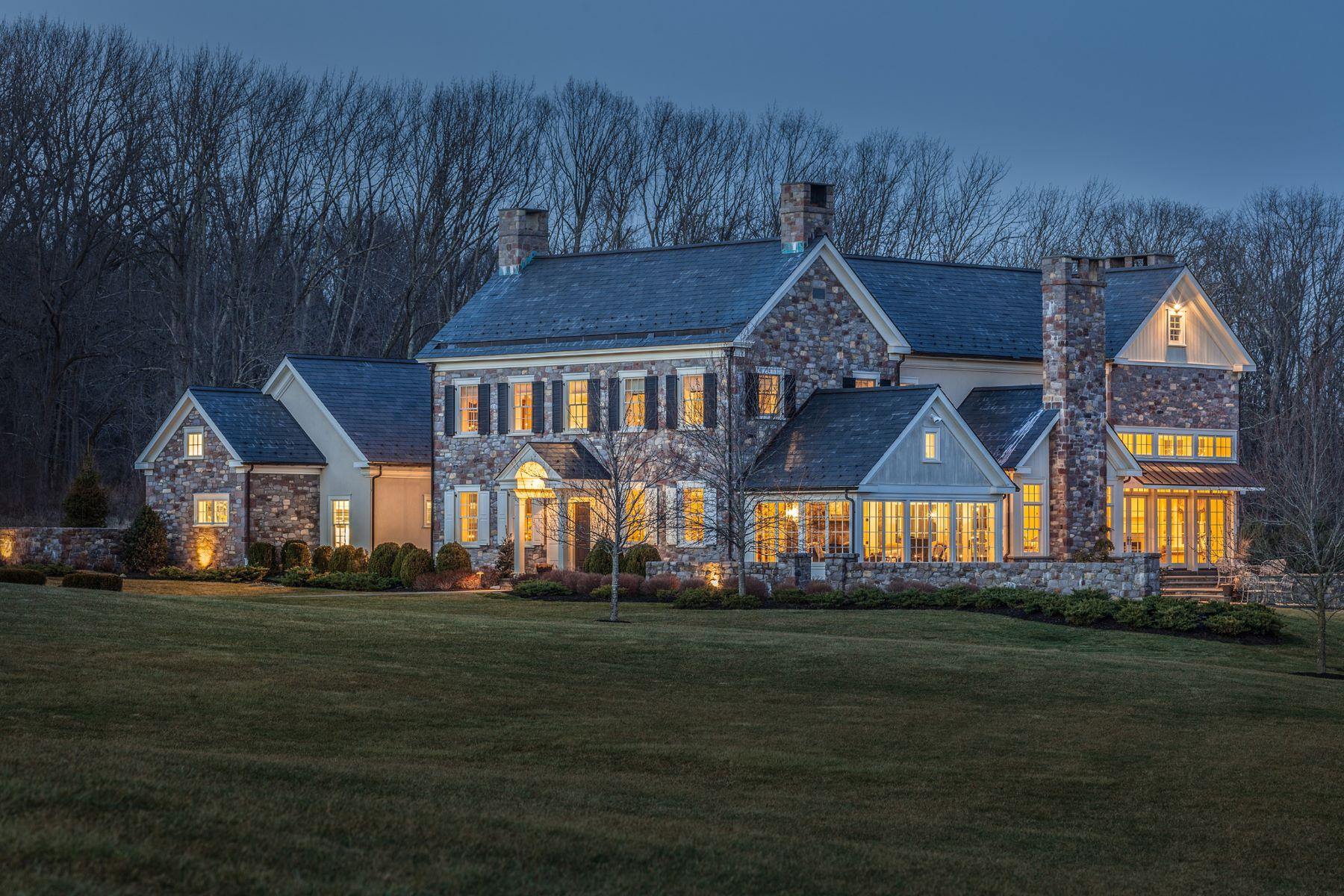 Частный односемейный дом для того Продажа на Bucks County Perfection 5811 RIDGEVIEW DR Doylestown, 18902 Соединенные Штаты