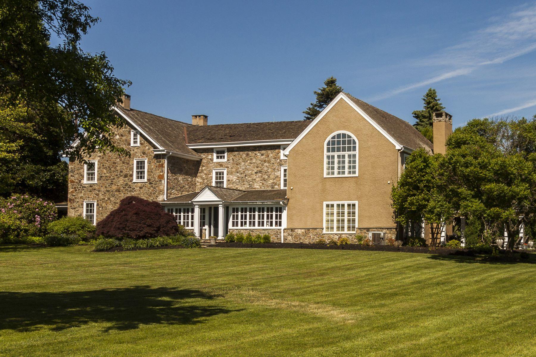Частный односемейный дом для того Продажа на Three Ponds Farm 2336 PIKELAND RD Malvern, Пенсильвания, 19355 Соединенные Штаты