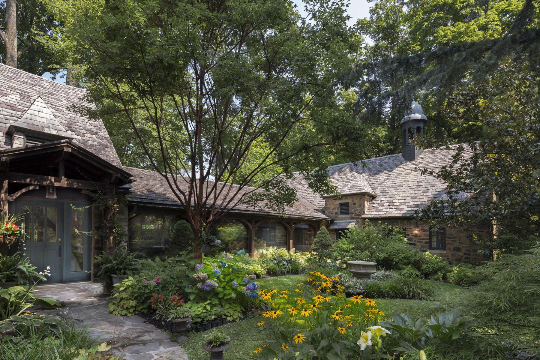 Maison unifamiliale pour l Vente à The Stables at Bloomfield Farm 22 VILLANOVA RD Villanova, Pennsylvanie, 19085 États-Unis