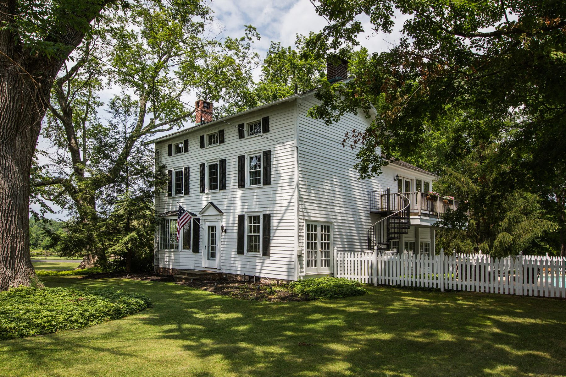 Single Family Home for Sale at Classic Farmhouse & Barn 293 LURGAN RD New Hope, Pennsylvania, 18938 United States