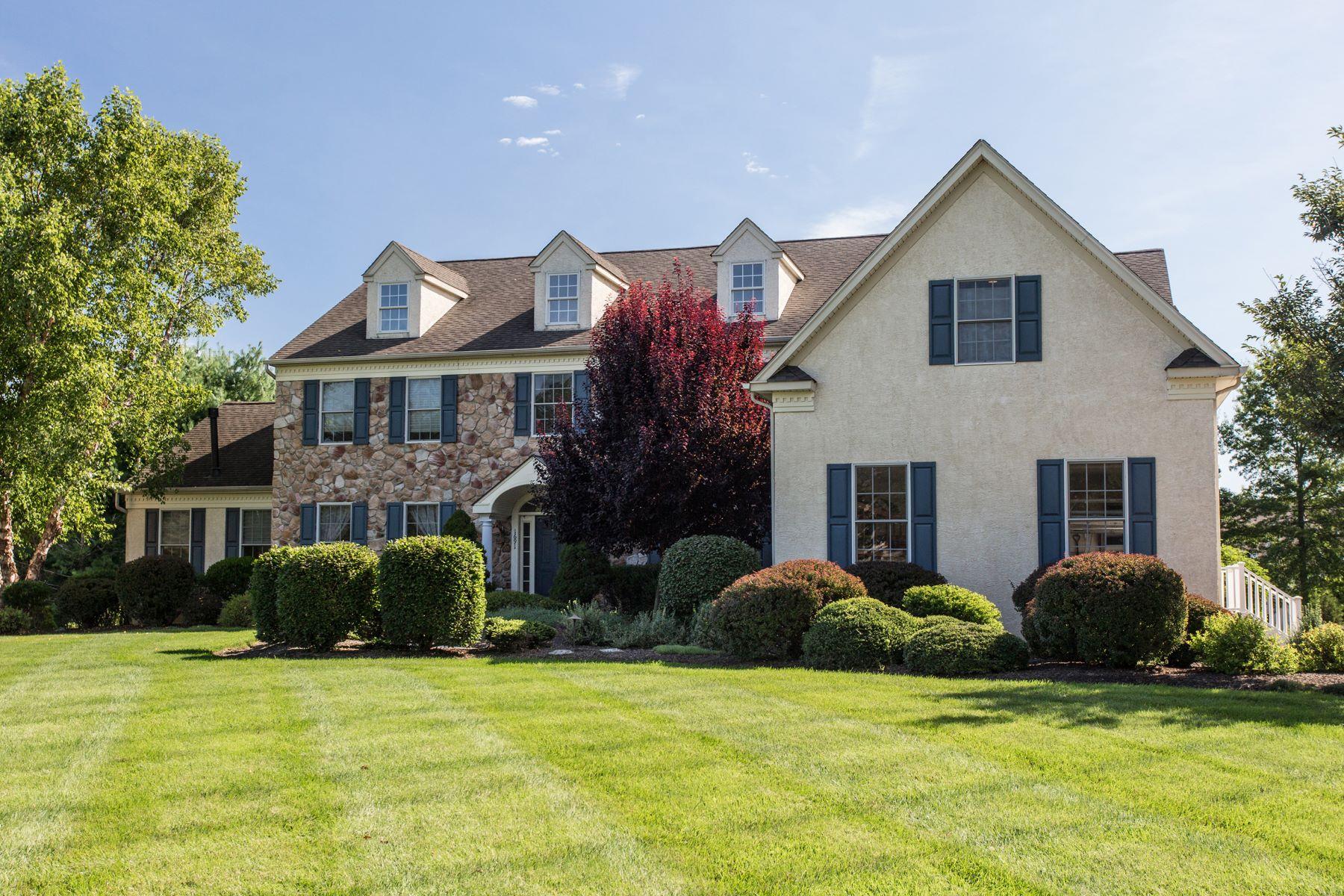 Maison unifamiliale pour l à vendre à 1691 Meetinghouse Ln Yardley, Pennsylvanie, 19067 États-Unis