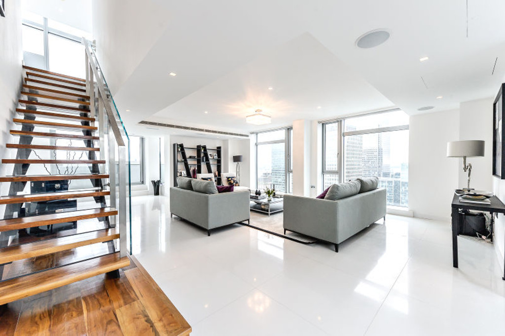 sales property at Pan Peninsula Square, Canary Wharf