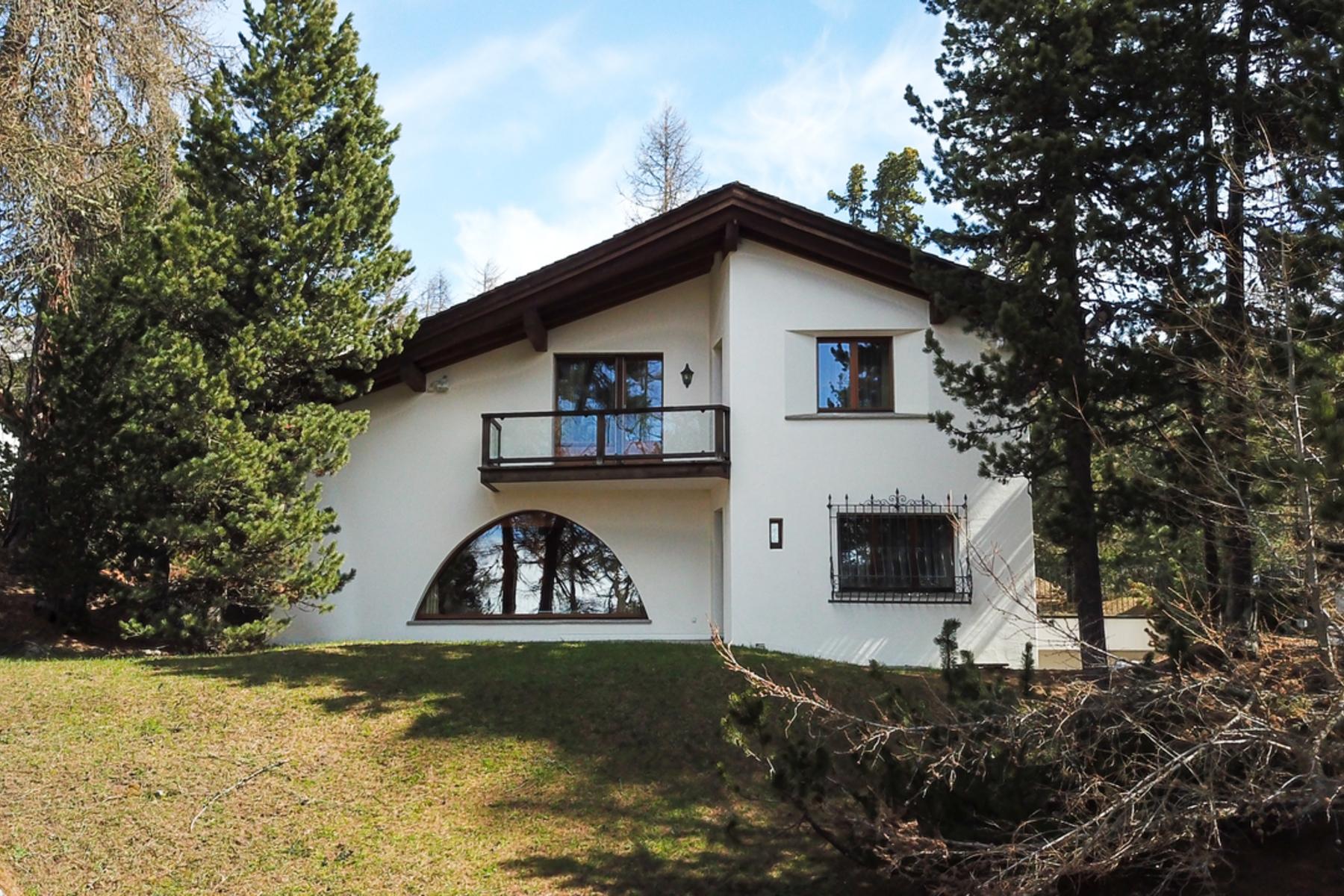 single family homes for Sale at Chalet in prestigious Suvretta area St. Moritz, Grisons 7500 Switzerland