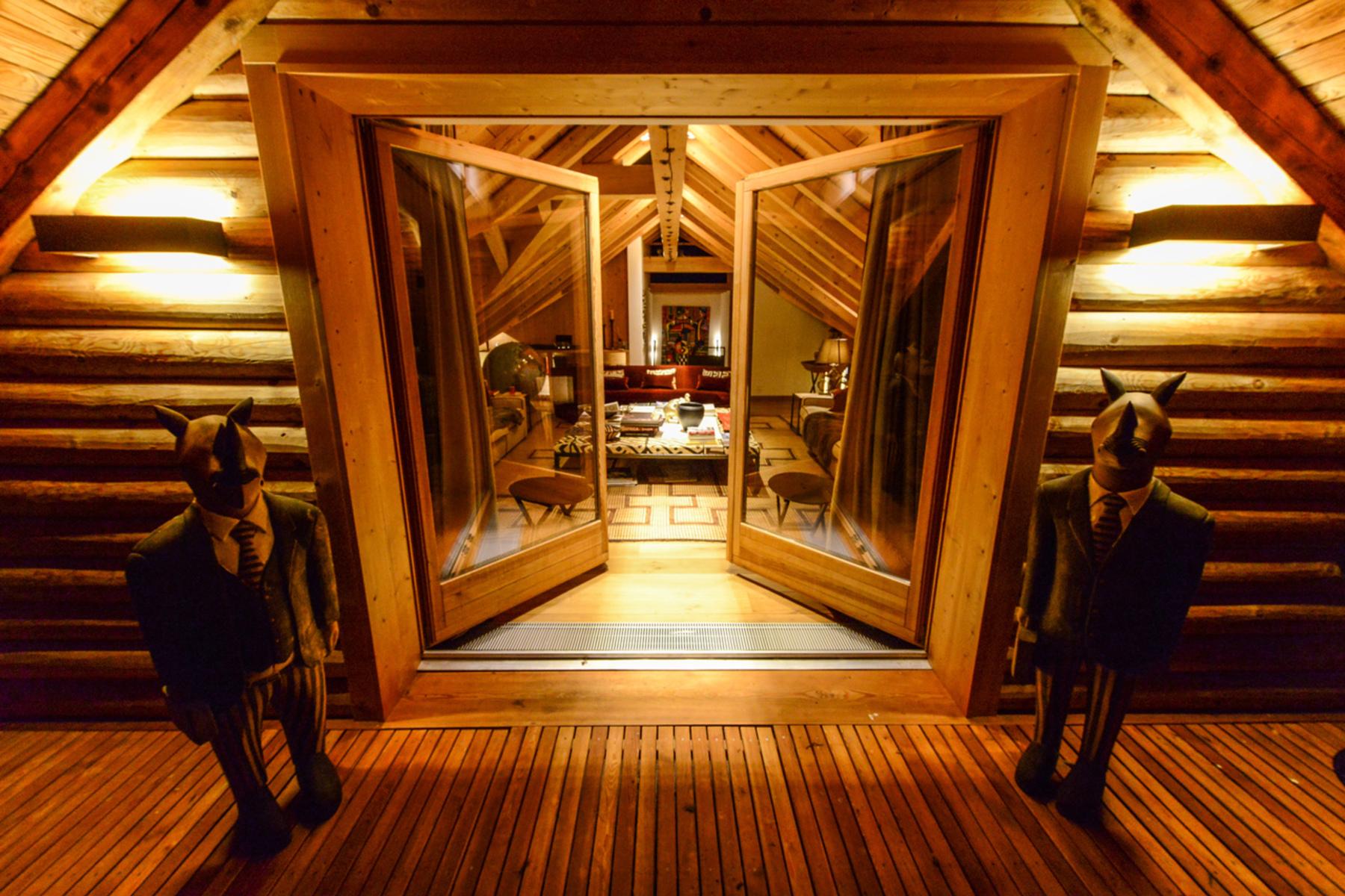 Maison unifamiliale pour l Vente à Splendid villa with spa right at the slope Other Switzerland, Autres Régions De La Suisse, 7513 Suisse