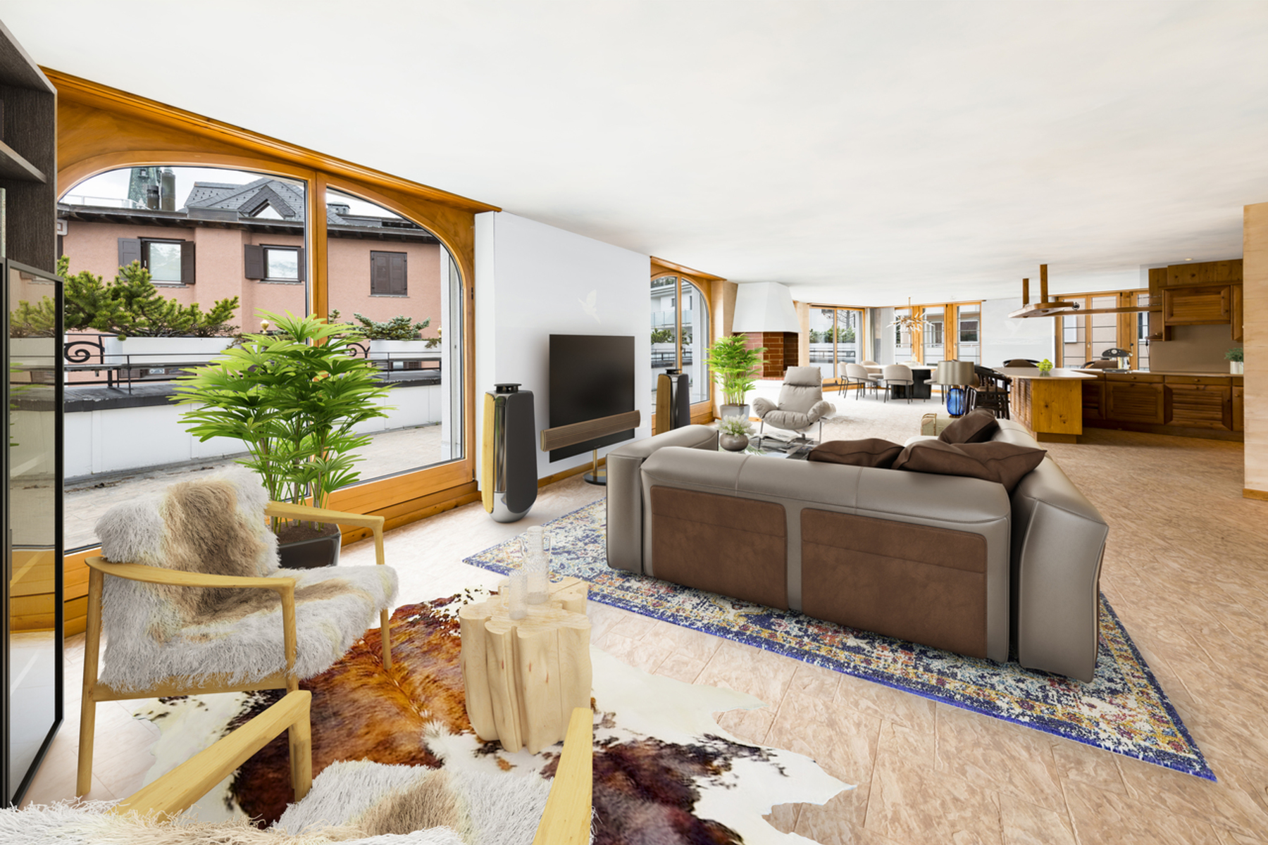 Apartments for Sale at Penthouse apartment with spacious roof terrace in the center St. Moritz, Grisons 7500 Switzerland