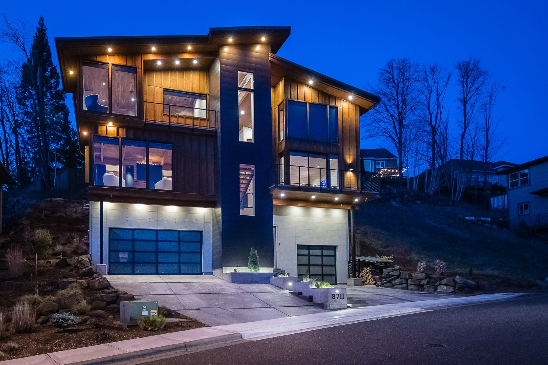 Single Family Homes for Active at Custom Builders Contemporary 8711 NW SAVOY LN Portland, Oregon 97229 United States