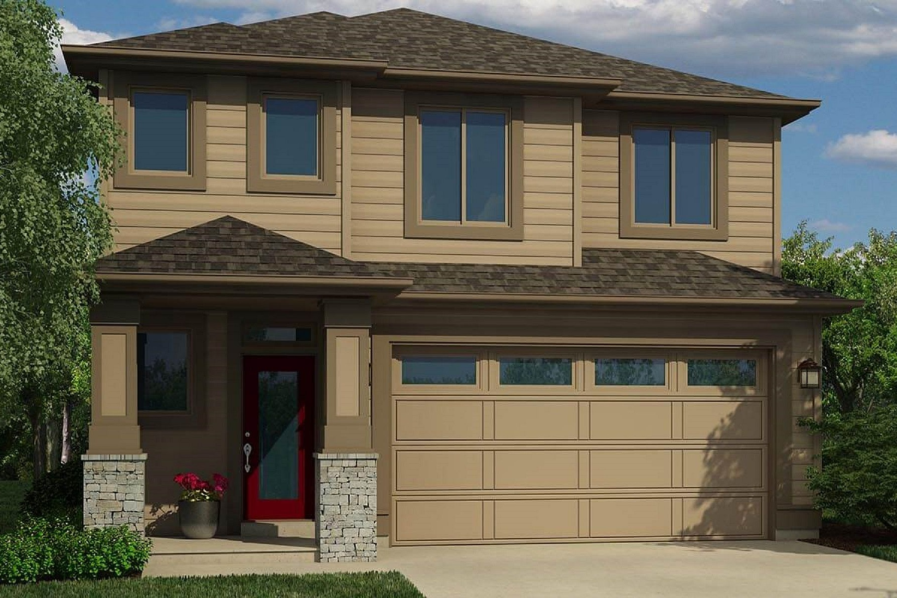 واحد منزل الأسرة للـ Sale في New Pahlisch Home-Jackson Floorplan 3721-Lot 30 Southwest Coyote Lane, Redmond, Oregon, 97756 United States