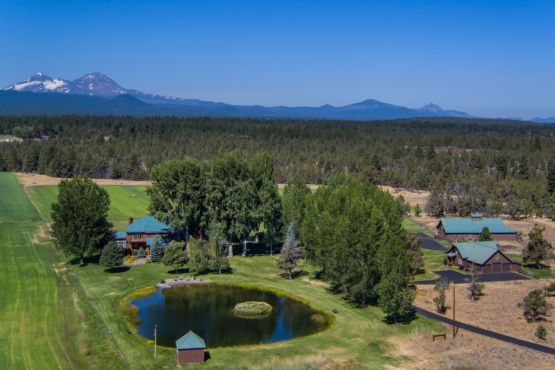 Single Family Homes para Venda às Box S Ranch - Bend, OR 63895 Johnson Road, Bend, Oregon 97703 Estados Unidos