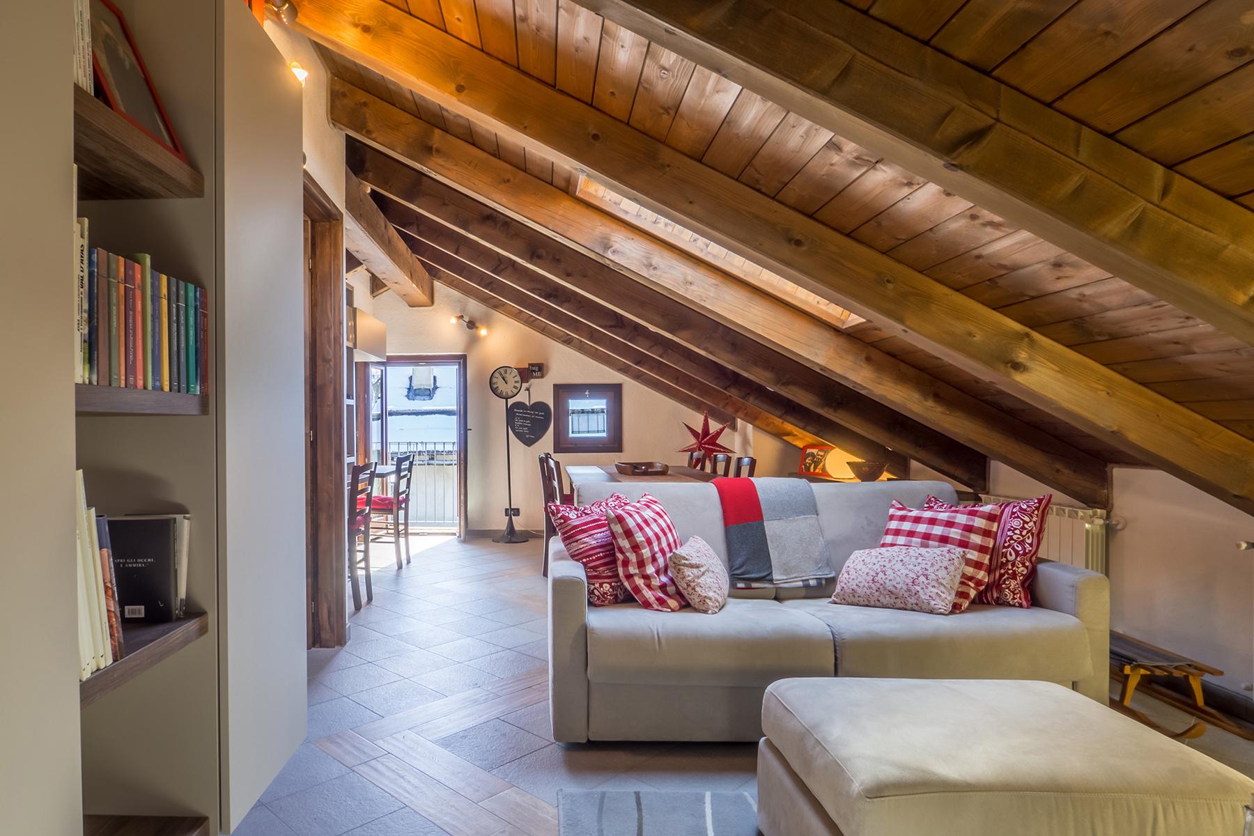 Apartments for Sale at Discreet attic in Val di Susa Sauze di Cesana, Turin Italy