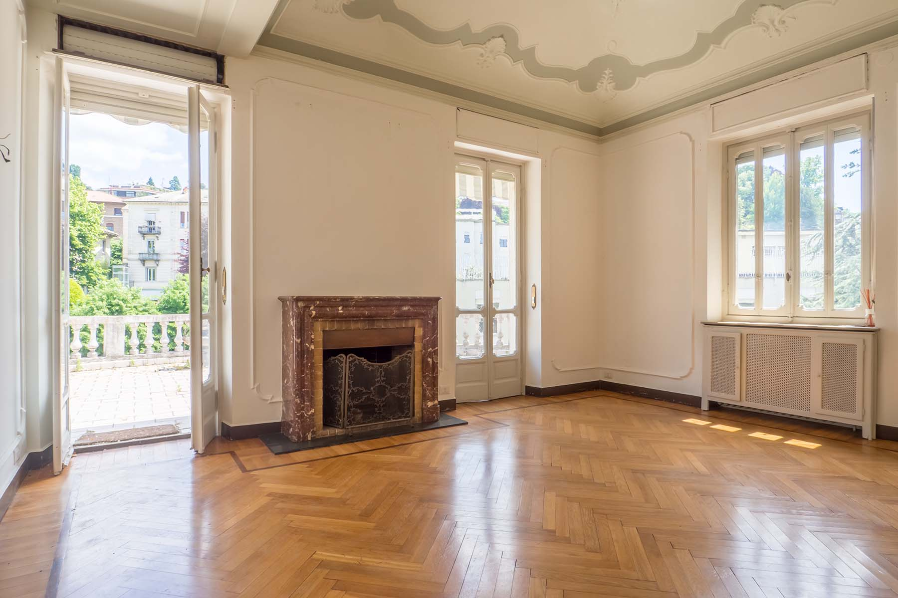 Apartments for Sale at Fascinating penthouse with terraces in the Crimea neighborhood Torino, Turin Italy