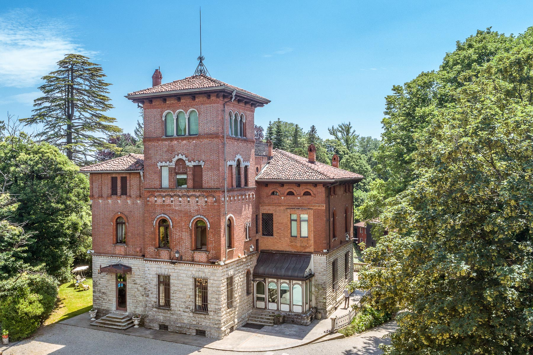 Other Residential Homes for Sale at Villa Sorriso on top of the magical village of Velate Varese, Varese Italy