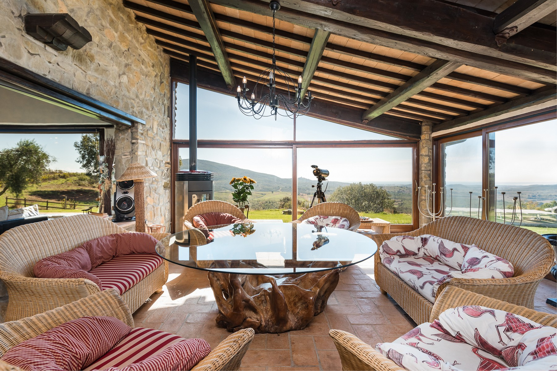 Other Residential Homes for Sale at Unique property with an infinity pool and 70 hectare Capalbio, Grosseto Italy