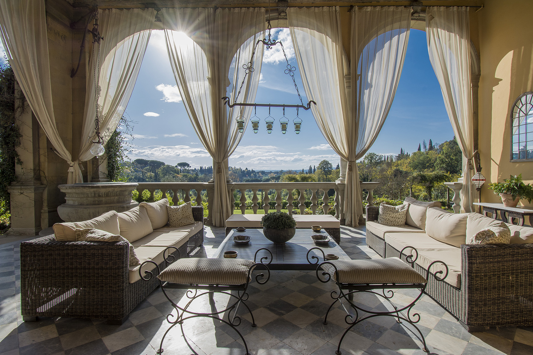 Other Residential Homes for Sale at An important villa with pool on the hills of Florence Firenze, Florence Italy