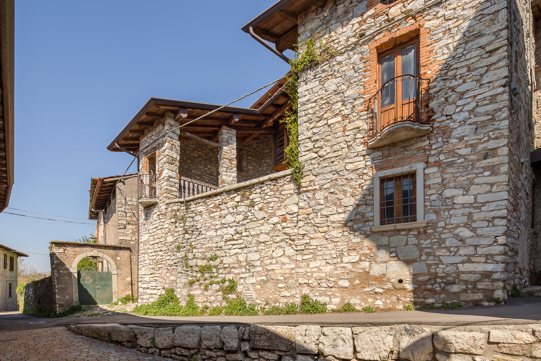 Single Family Homes for Sale at Ancient stone property in a quiet hillside village Other Bergamo, Bergamo Italy