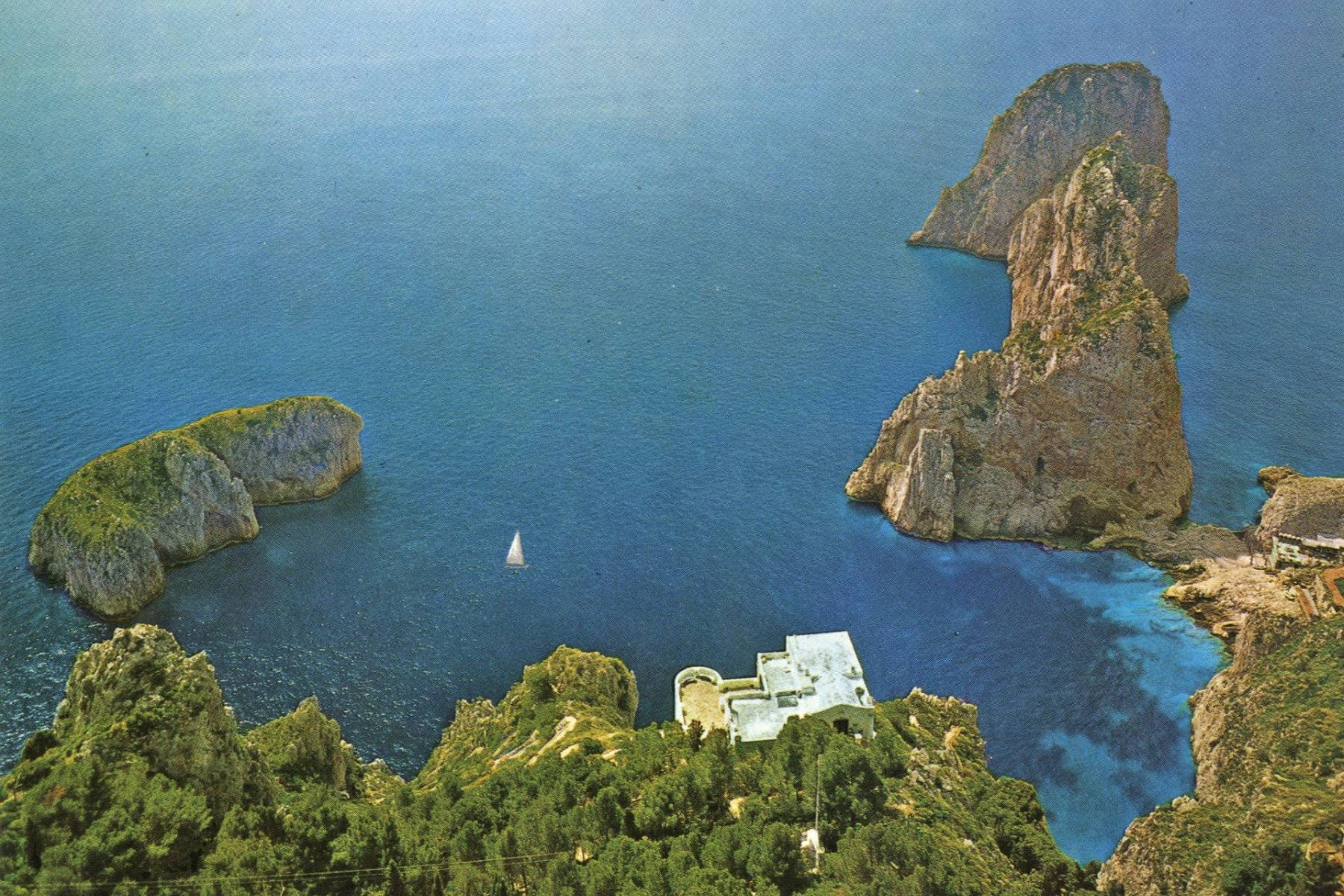 Other Residential Homes for Sale at Remarkable villa with a breathtaking panorama on the Faraglioni rocks Capri, Naples Italy