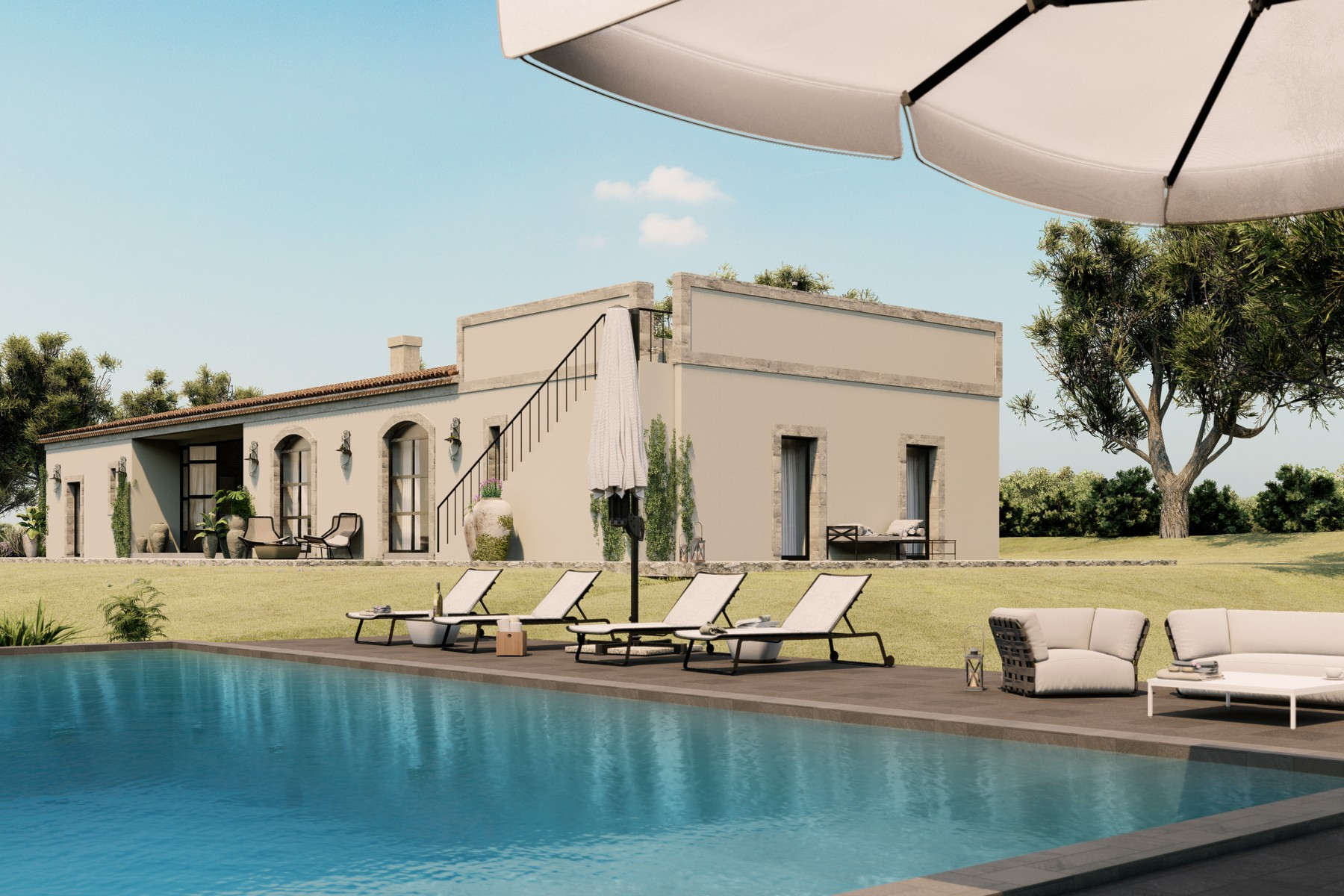 Other Residential Homes for Sale at Luxurious design Sicilian farm in the Val di Noto Noto, Syracuse Italy