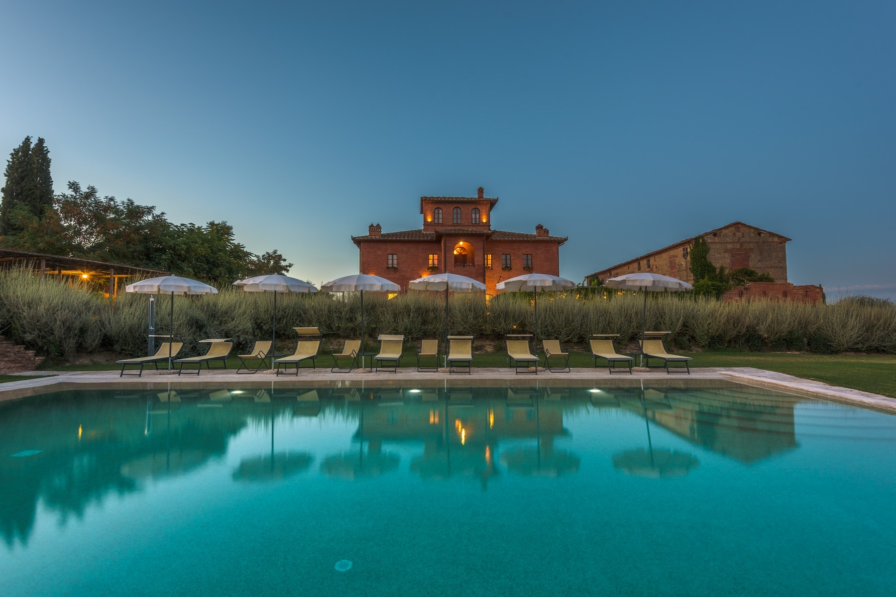 Other Residential Homes for Sale at Country hotel with adjacent private villa near Siena Sinalunga, Siena Italy