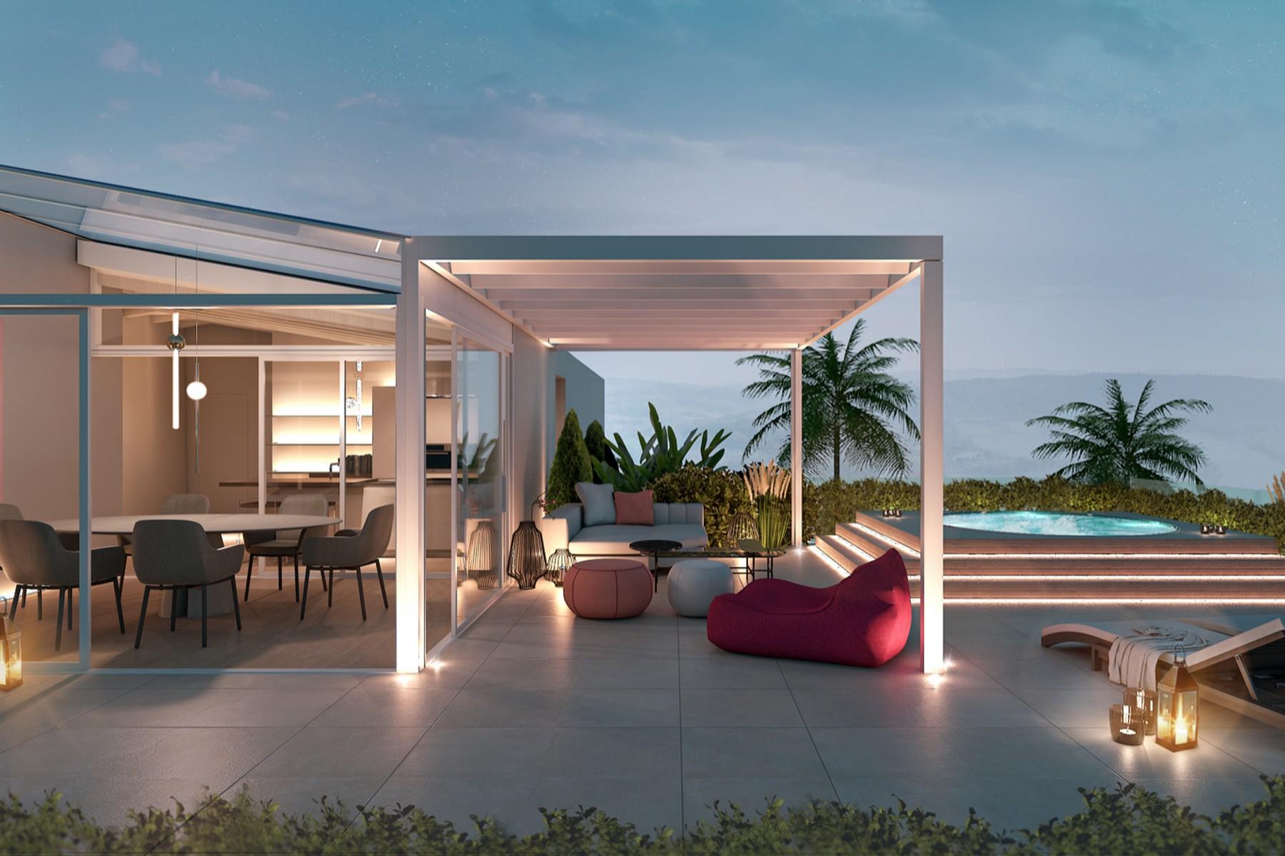 Apartments for Sale at Exclusive penthouse in new development in the center of Desenzano del Garda Desenzano Del Garda, Brescia Italy