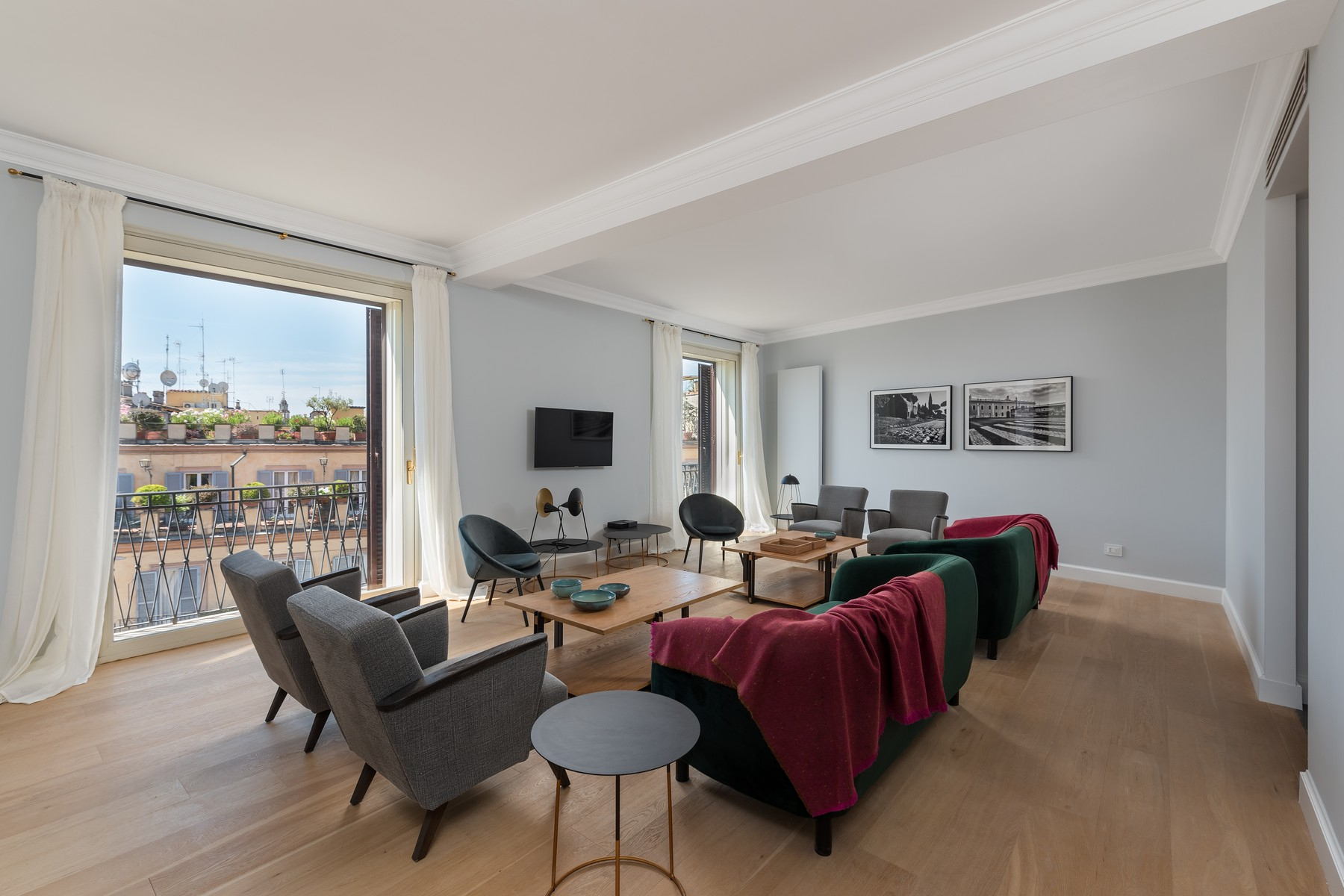 Apartments 为 出租 在 Residential property for Rental in Roma (Italy) 罗马, 罗马 意大利