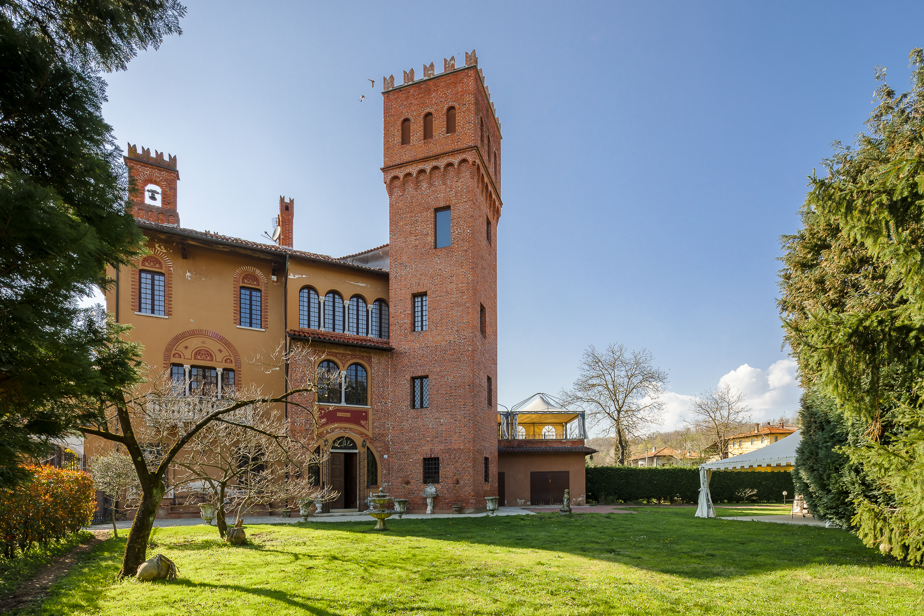 Other Residential Homes for Sale at Late 18th century castle in the Novara hills Cavallirio, Novara Italy