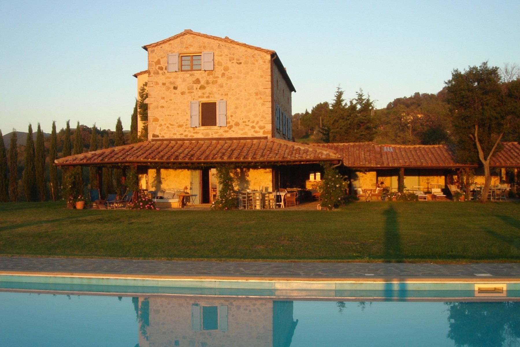 Other Residential for Sale at Lovely Tuscan villa with swimming pool Castellina Marittima, Pisa Italy