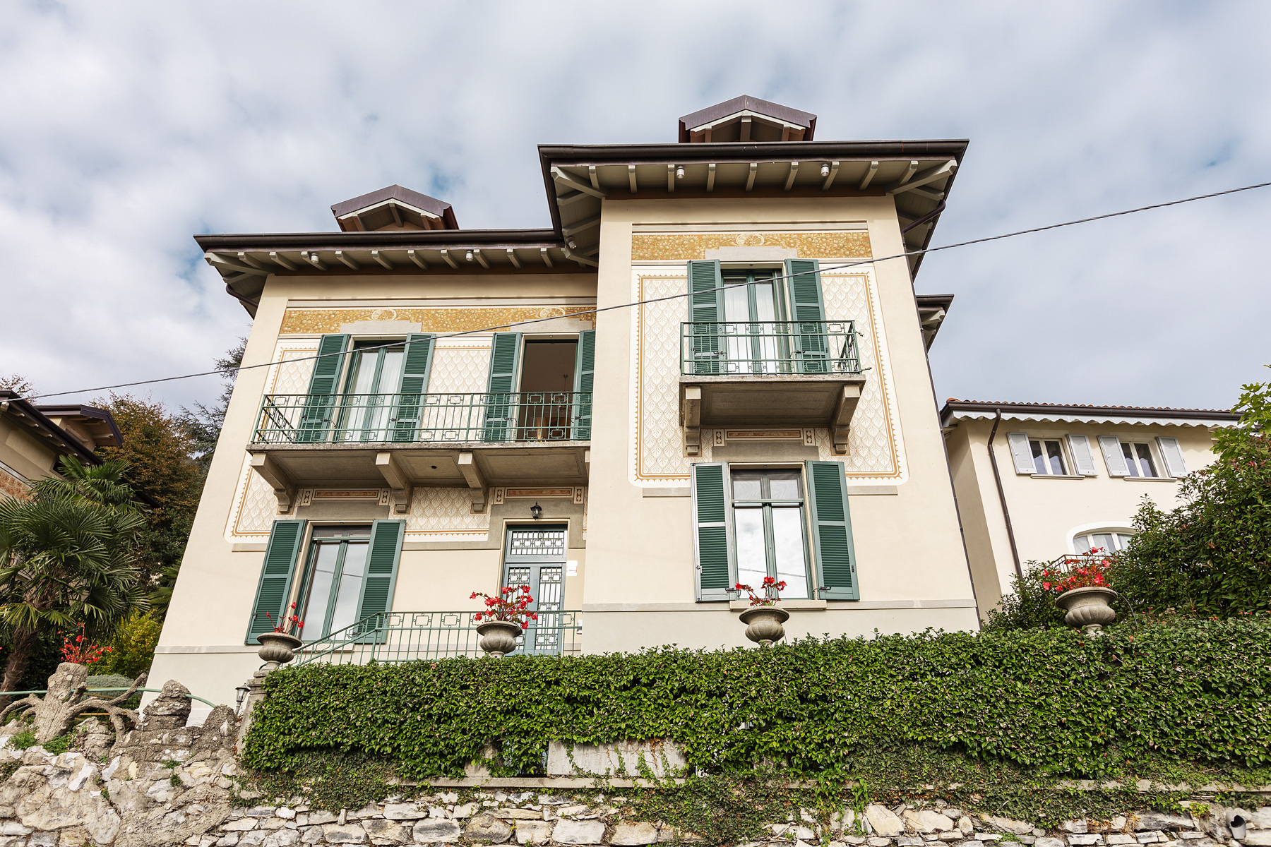 Property for Sale at Beautiful villa with wonderful view over the city and the Lake Como Cernobbio, Como Italy