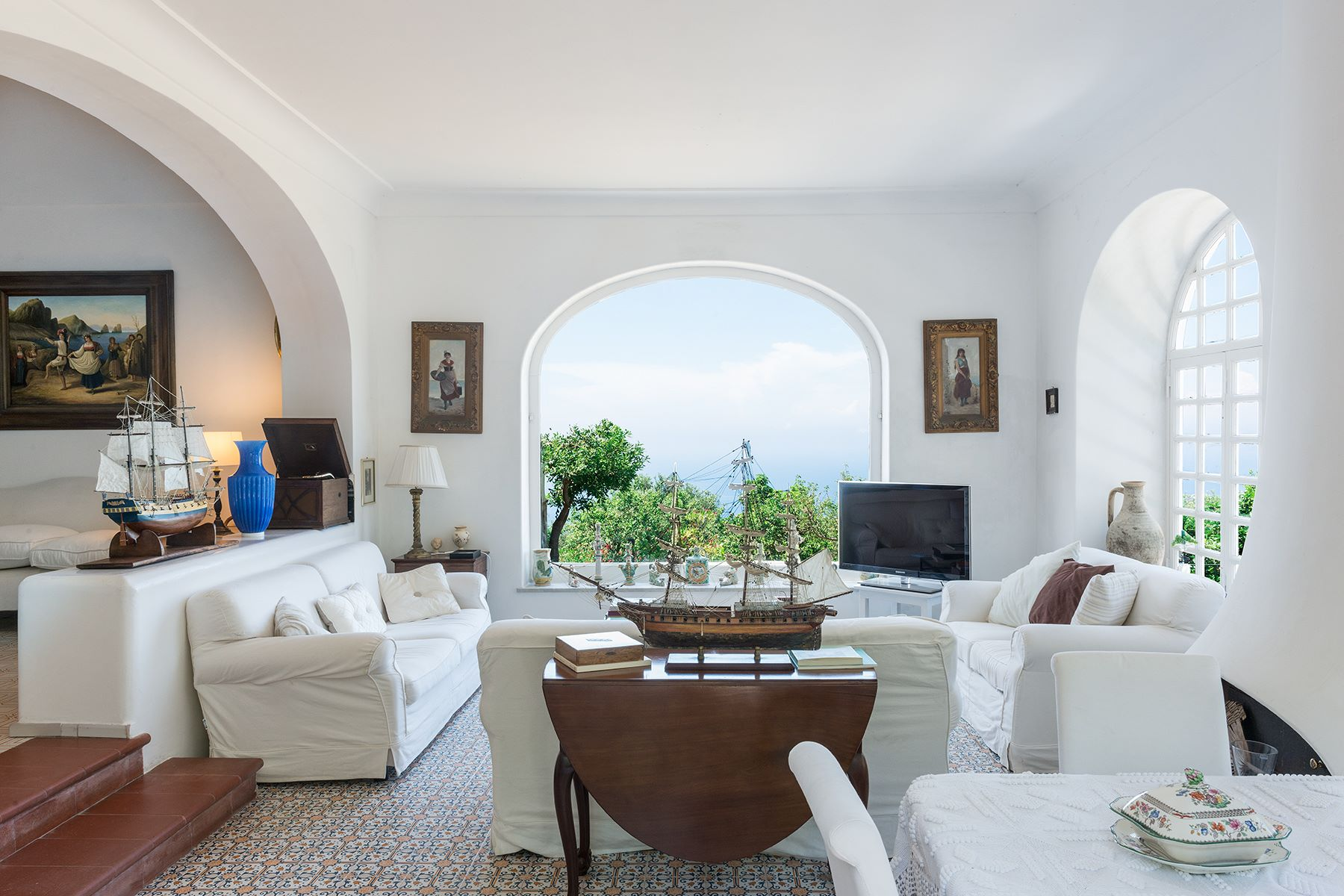 Other Residential for Sale at Amazing Villa in the heart of Anacapri Capri, Naples, Italy
