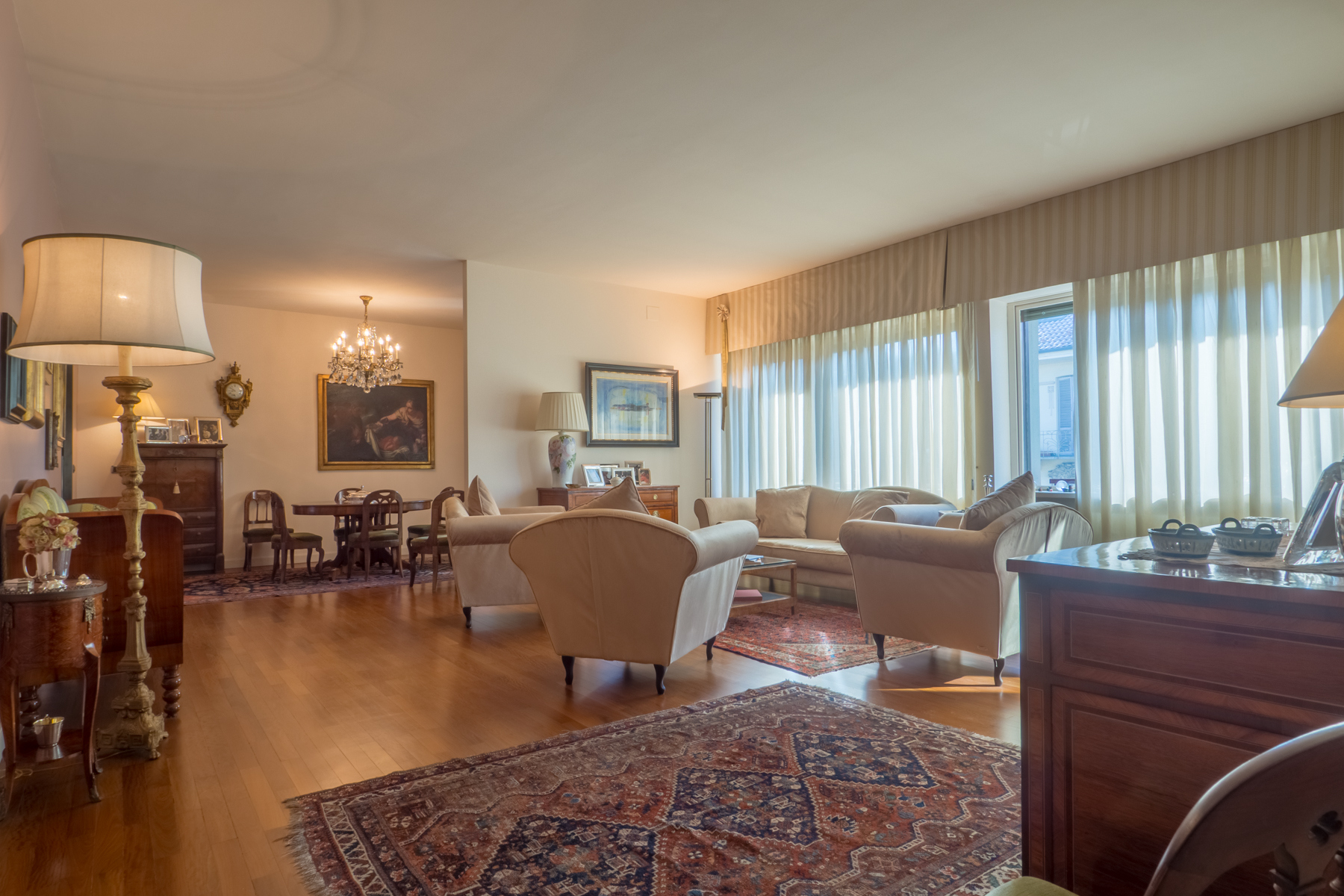 Apartments for Sale at Bright penthouse with terrace in Crimea neighborhood Torino, Turin Italy
