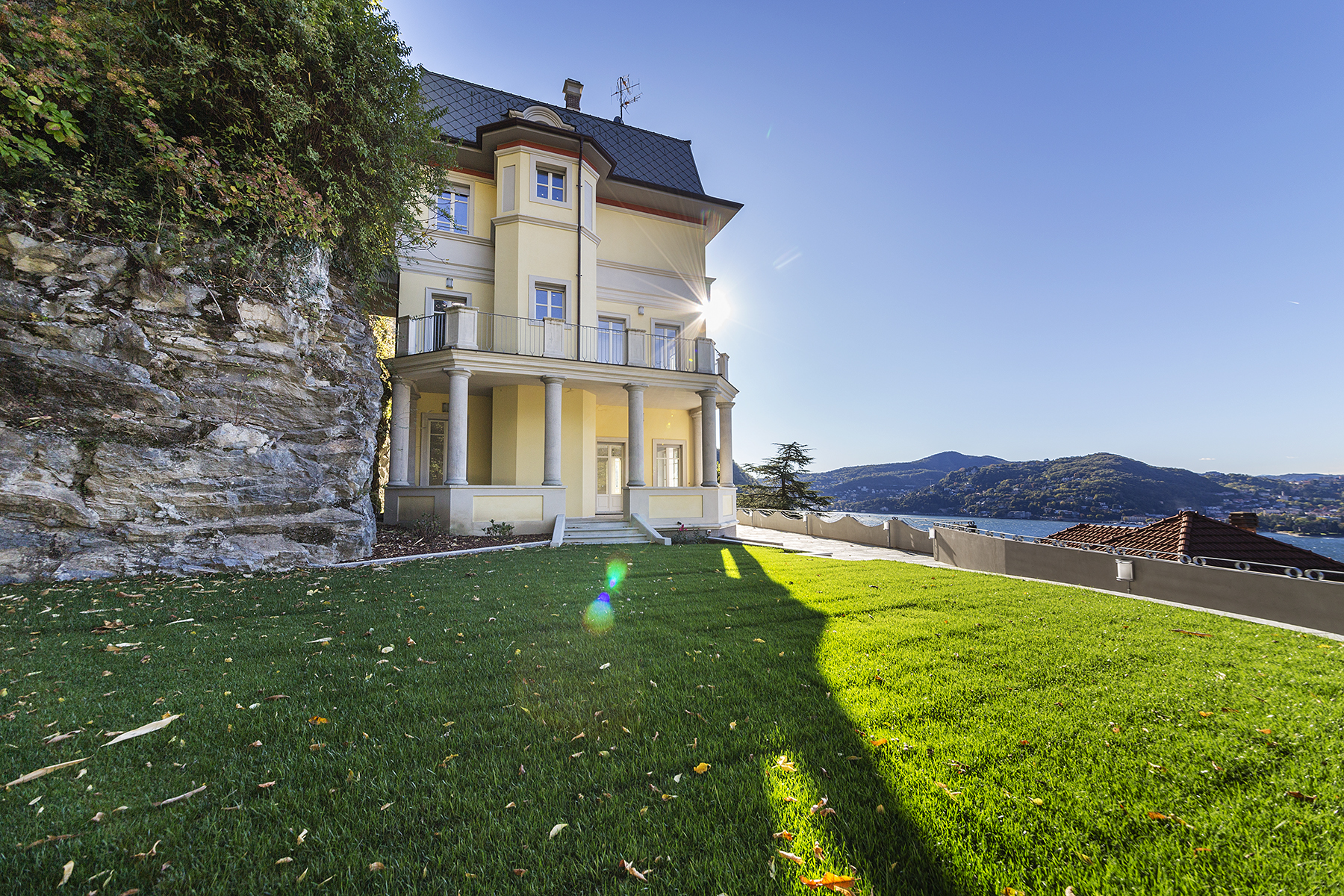 Apartment for Sale at Apartment with private garden in historical villa Blevio, Como, Italy