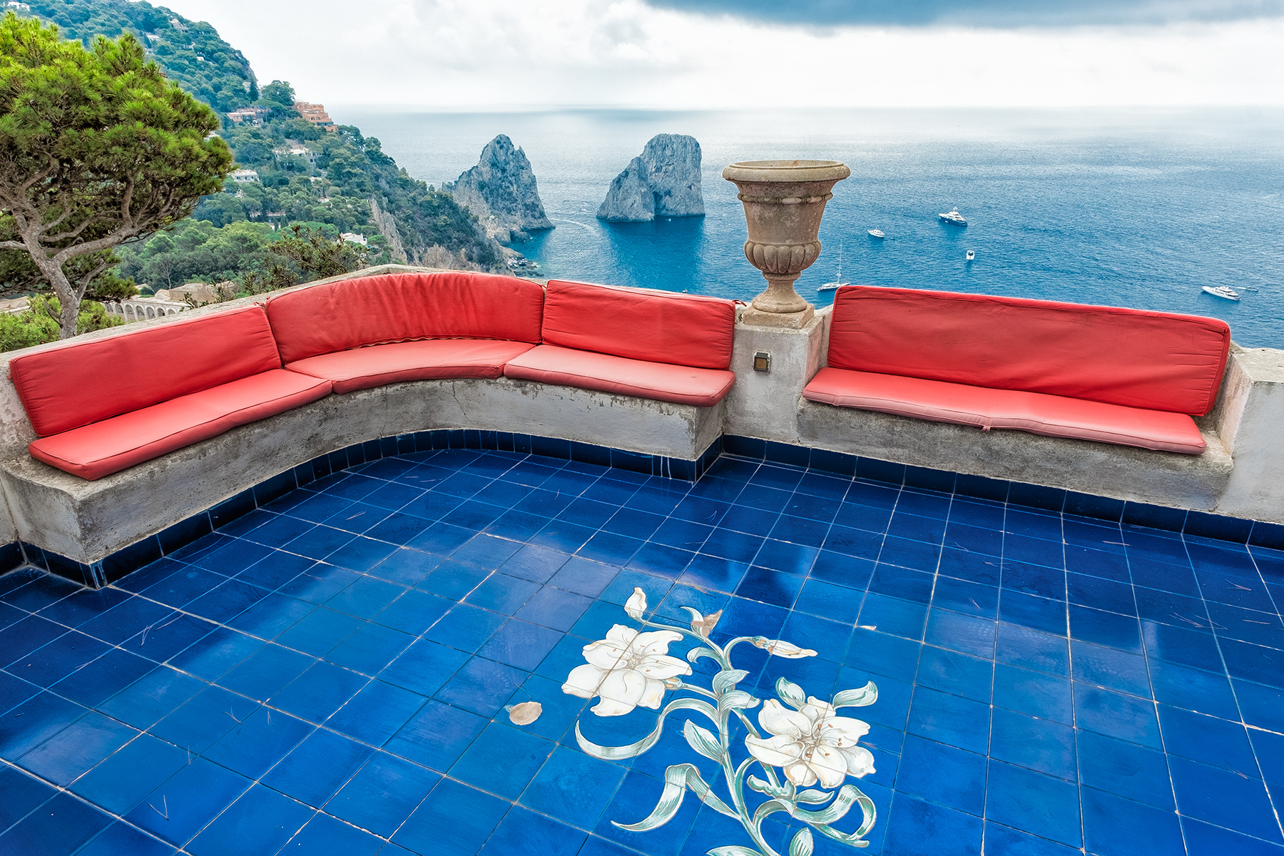 Other Residential Homes for Sale at Extraordinary villa with stunning view in Capri Capri, Naples Italy