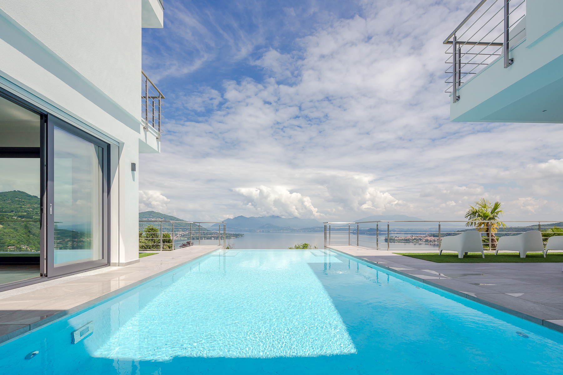 Other Residential Homes for Sale at Lightness and design on Lake Maggiore Meina, Novara Italy