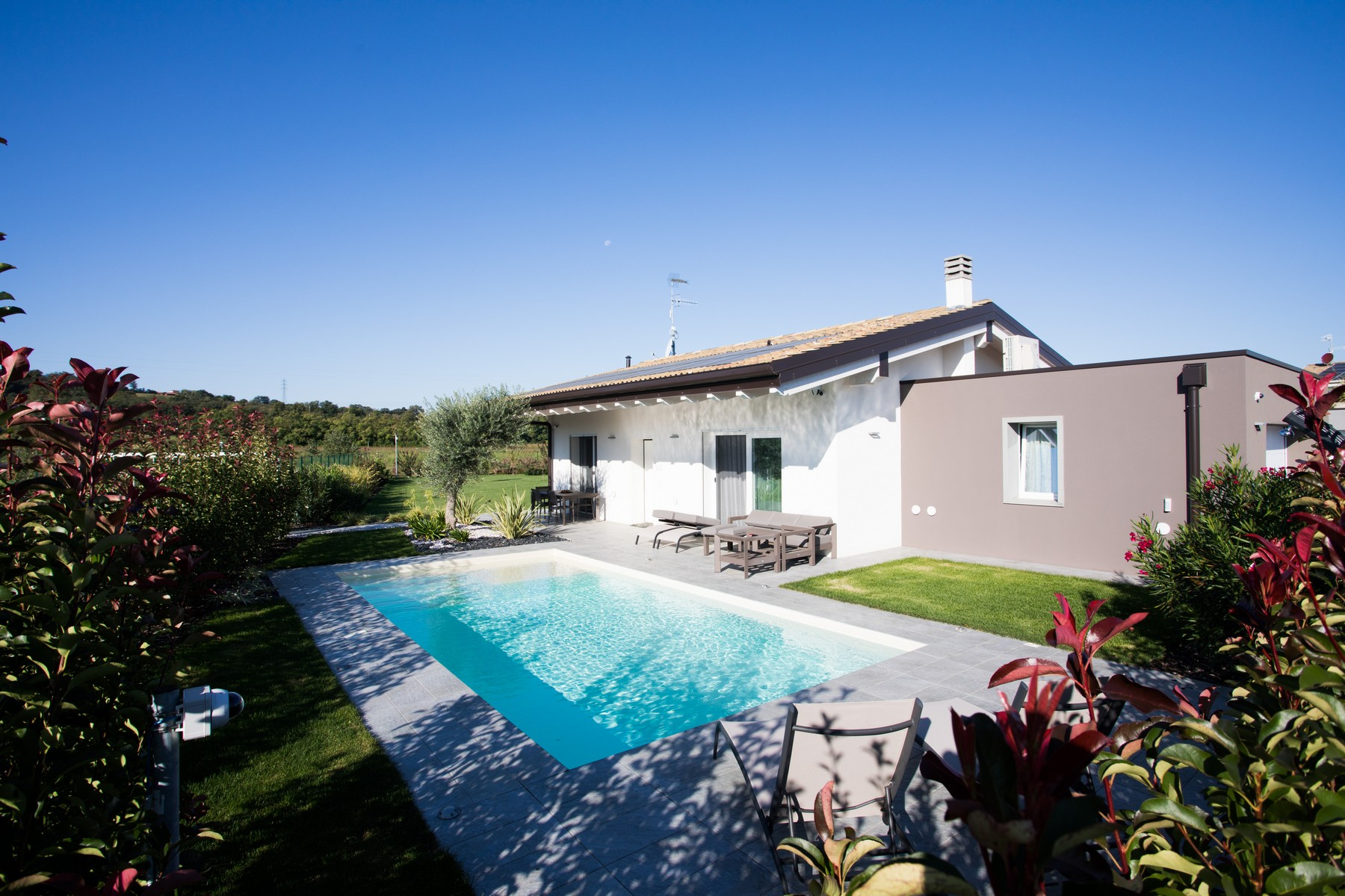 Other Residential Homes for Sale at Eco-friendly independent villa Lonato del Garda, Brescia Italy