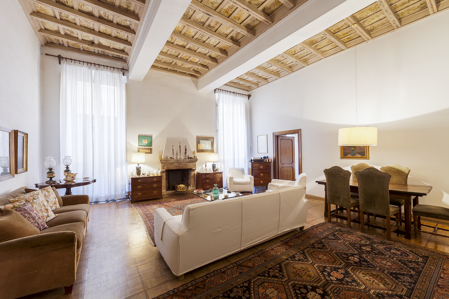 Property for Sale at Magnificent apartment of great charm Rome, Rome Italy