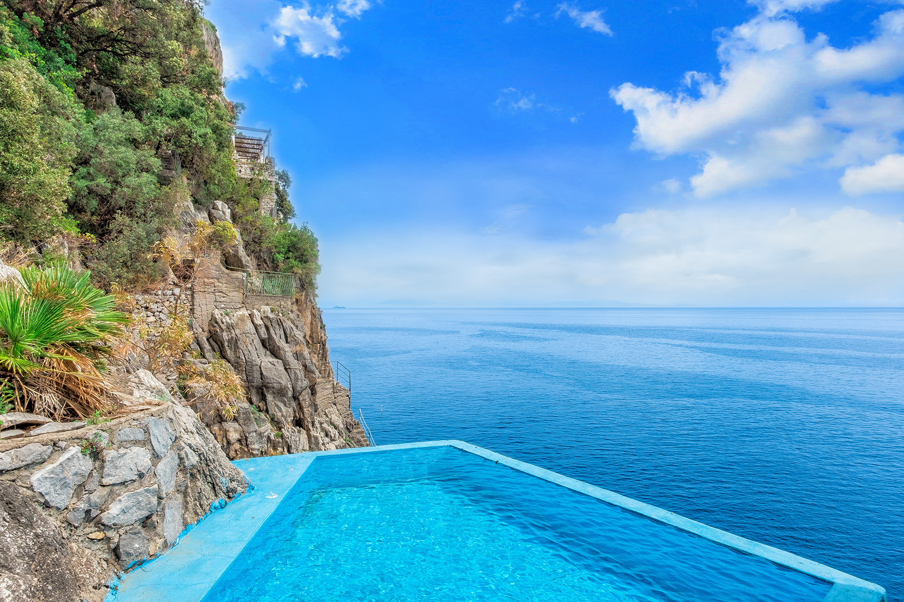 Other Residential Homes for Sale at Amazing pieds dans l'eau Villa with pool Furore, Salerno Italy