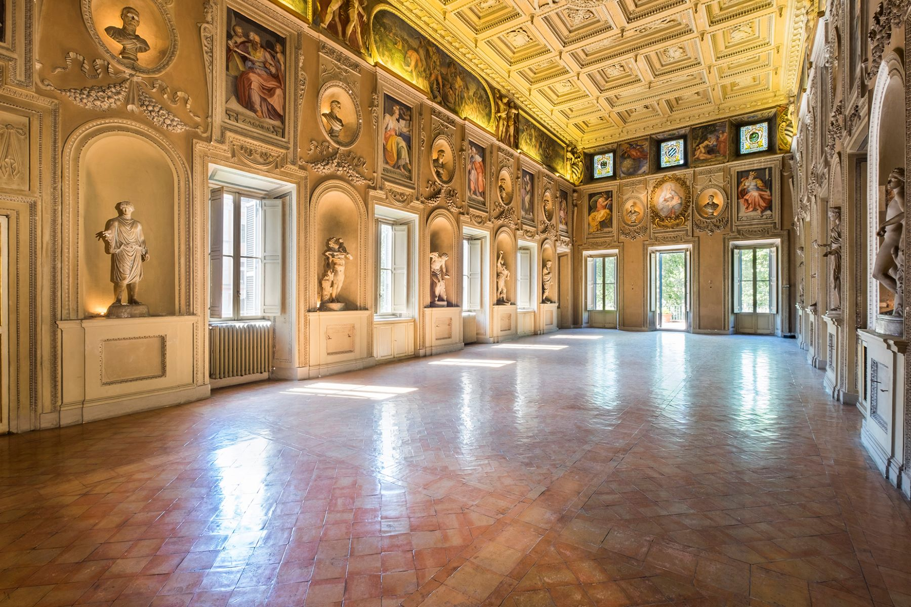 Property 为 销售 在 Palazzo Sacchetti, a pearl of the late reinassance in the heart of Rome 罗马, 罗马 意大利
