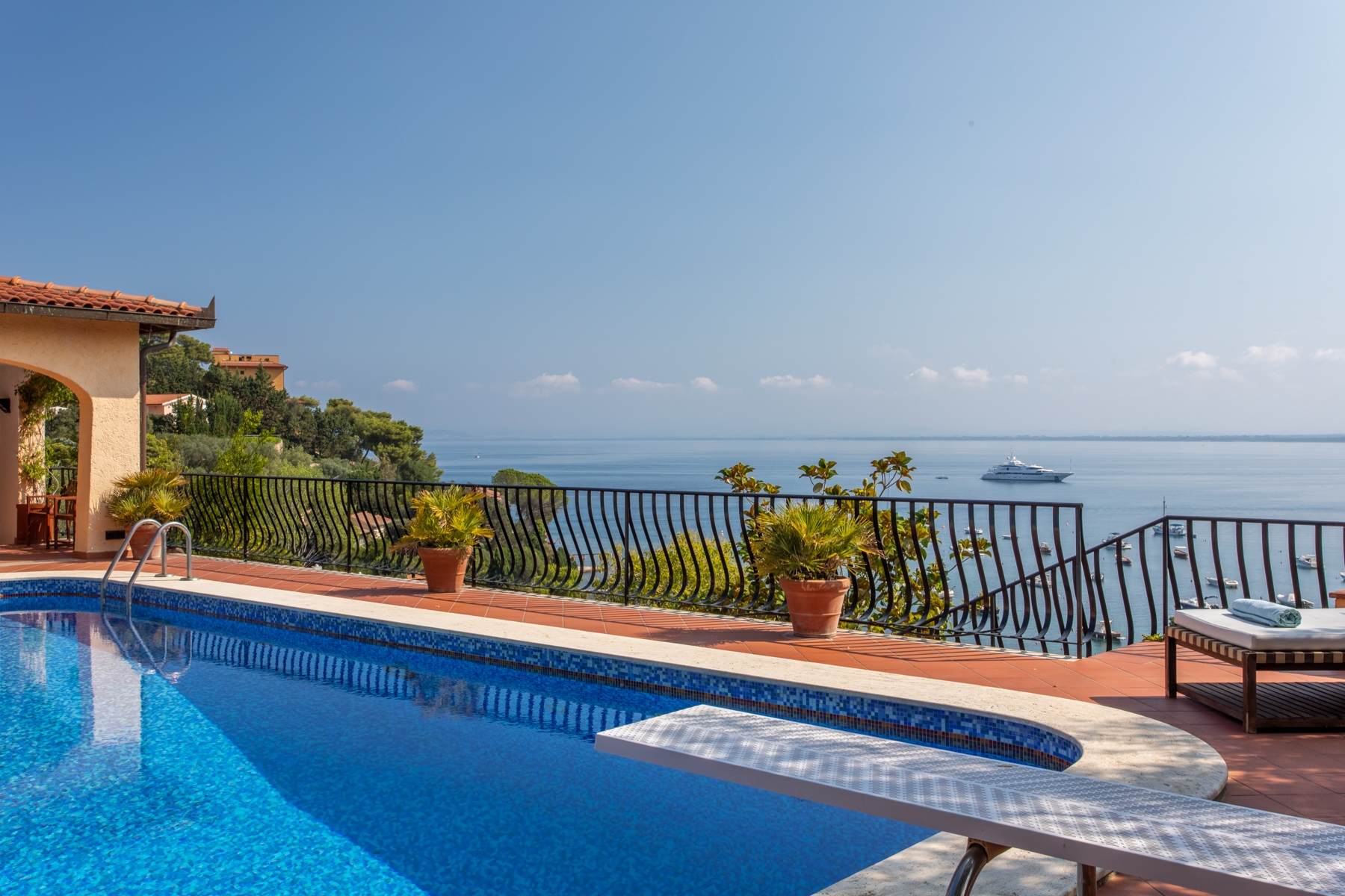 Other Residential Homes for Sale at Stunning villa with seafront pool Monte Argentario, Grosseto Italy
