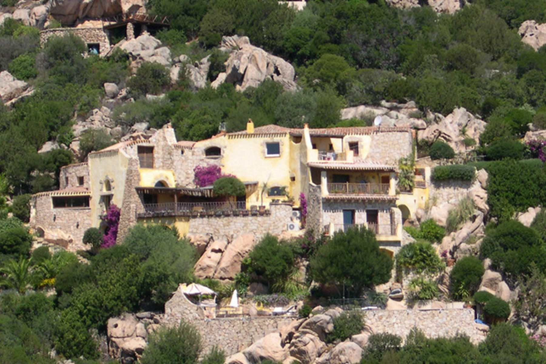 Other Residential for Sale at Beautiful Villa on the Pantogia Hill Porto Cervo, Olbia Tempio, Italy