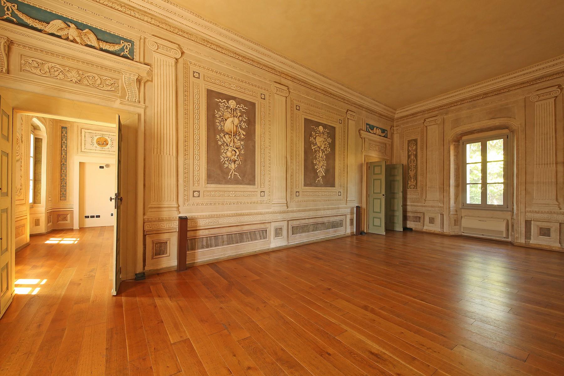 Apartments for Sale at Magnificent frescoed apartment in historic palace Lonato del Garda, Brescia Italy