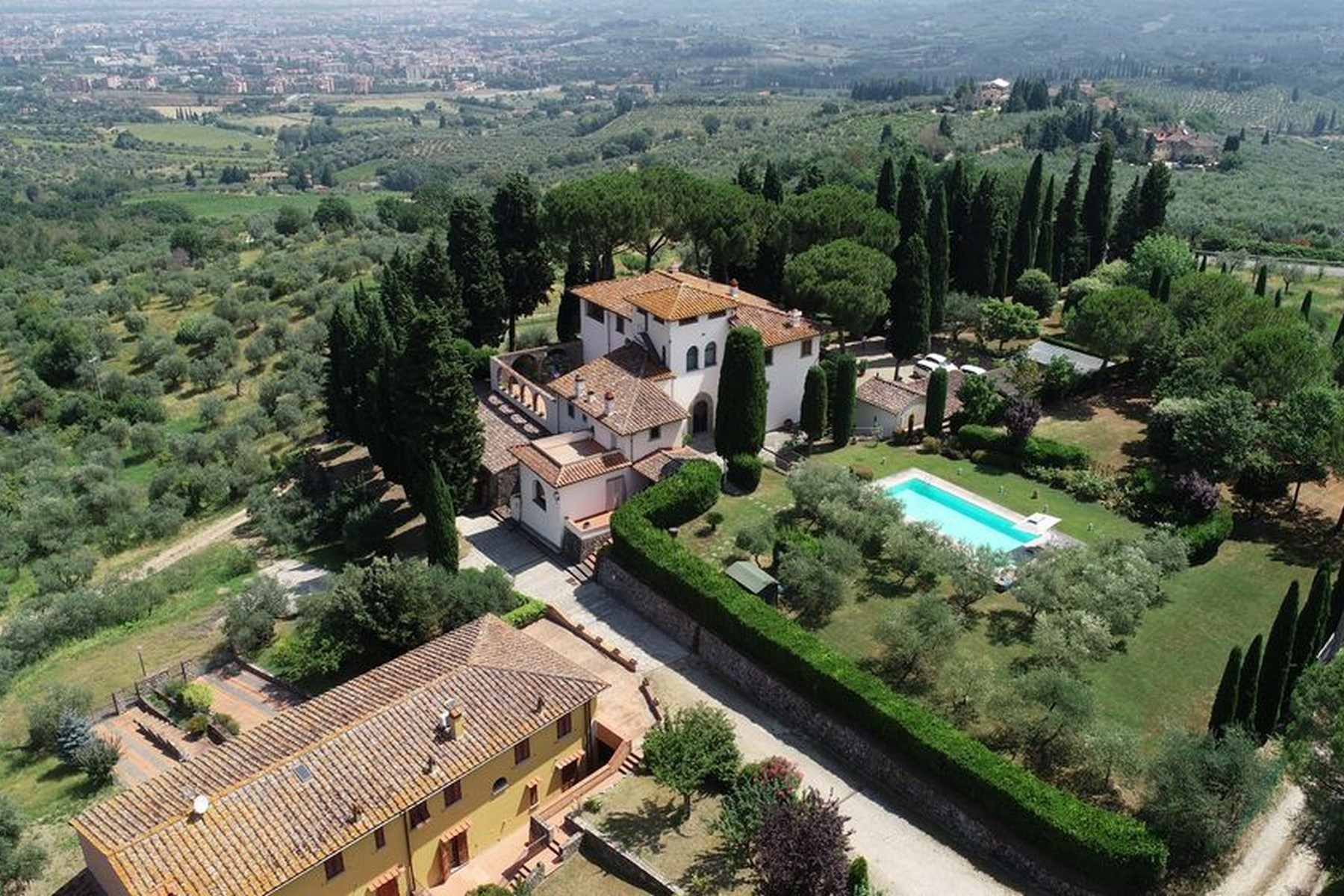 Other Residential Homes 为 销售 在 Historic Renaissance Villa with Private Hamlet on the Hills of Florence 佛罗伦萨, 佛罗伦萨 意大利