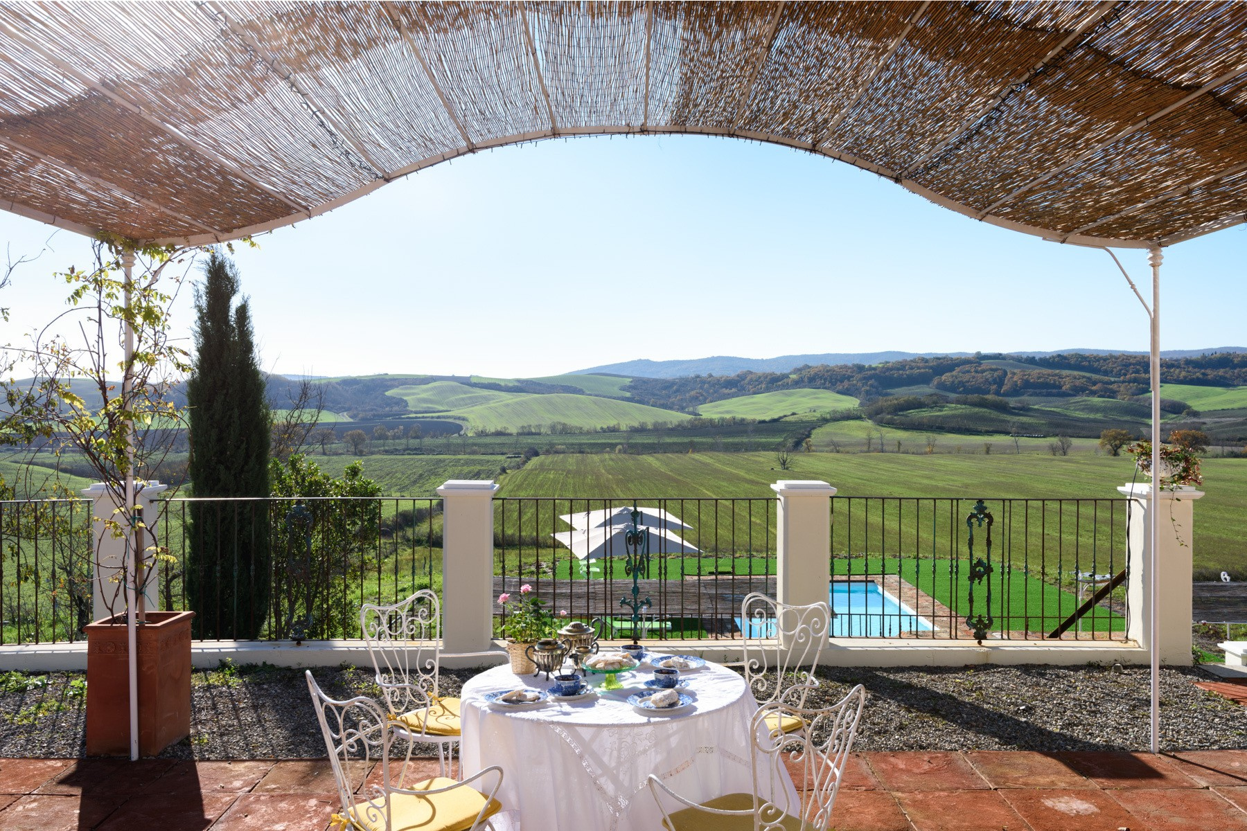 Other Residential Homes for Sale at Elegant 13th century country villa Monteroni d Arbia, Siena Italy