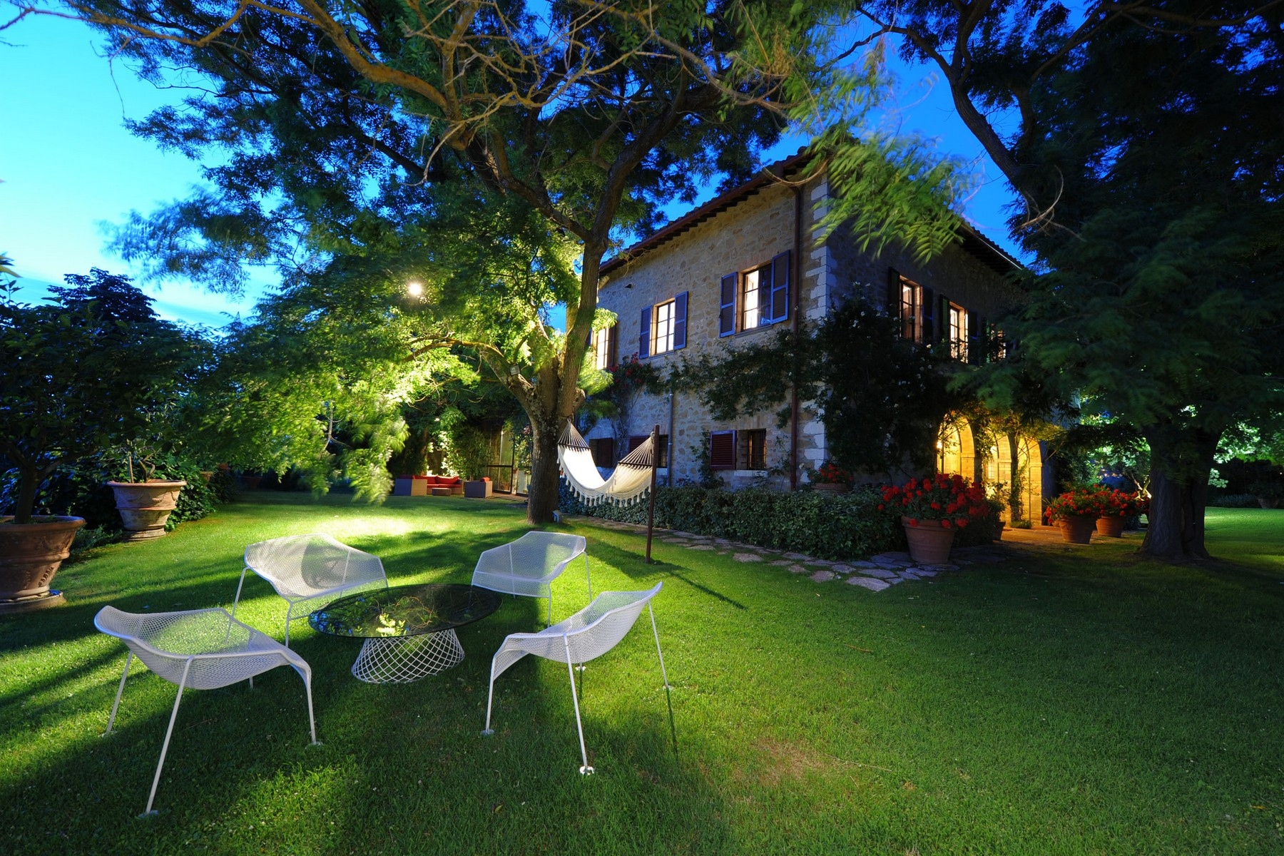 Other Residential Homes for Sale at Stunning property with winter garden, tennis court and pool Corciano, Perugia Italy
