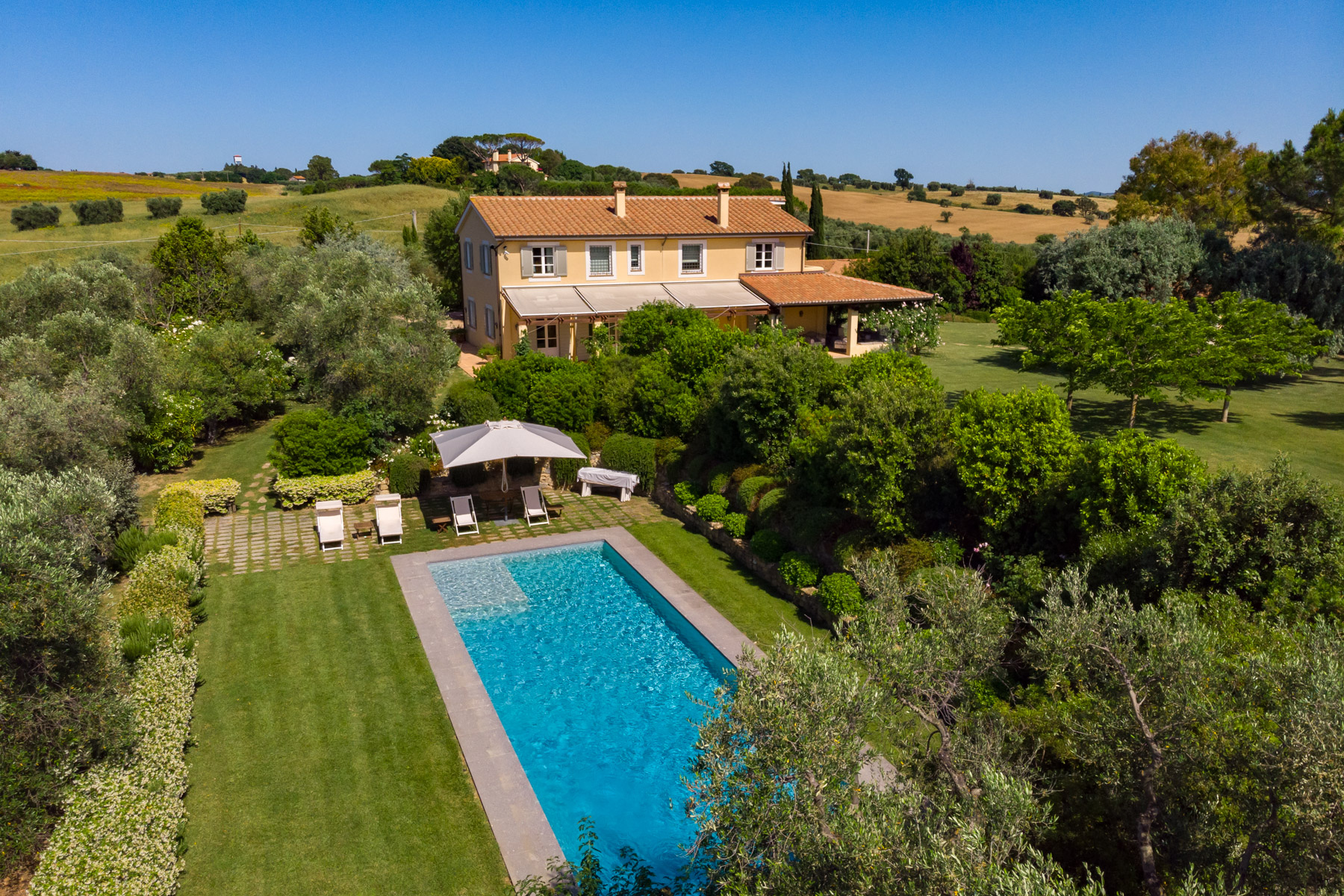 Other Residential Homes per Vendita alle ore Wonderful villa with farm-house in Maremma Magliano In Toscana, Grosseto Italia