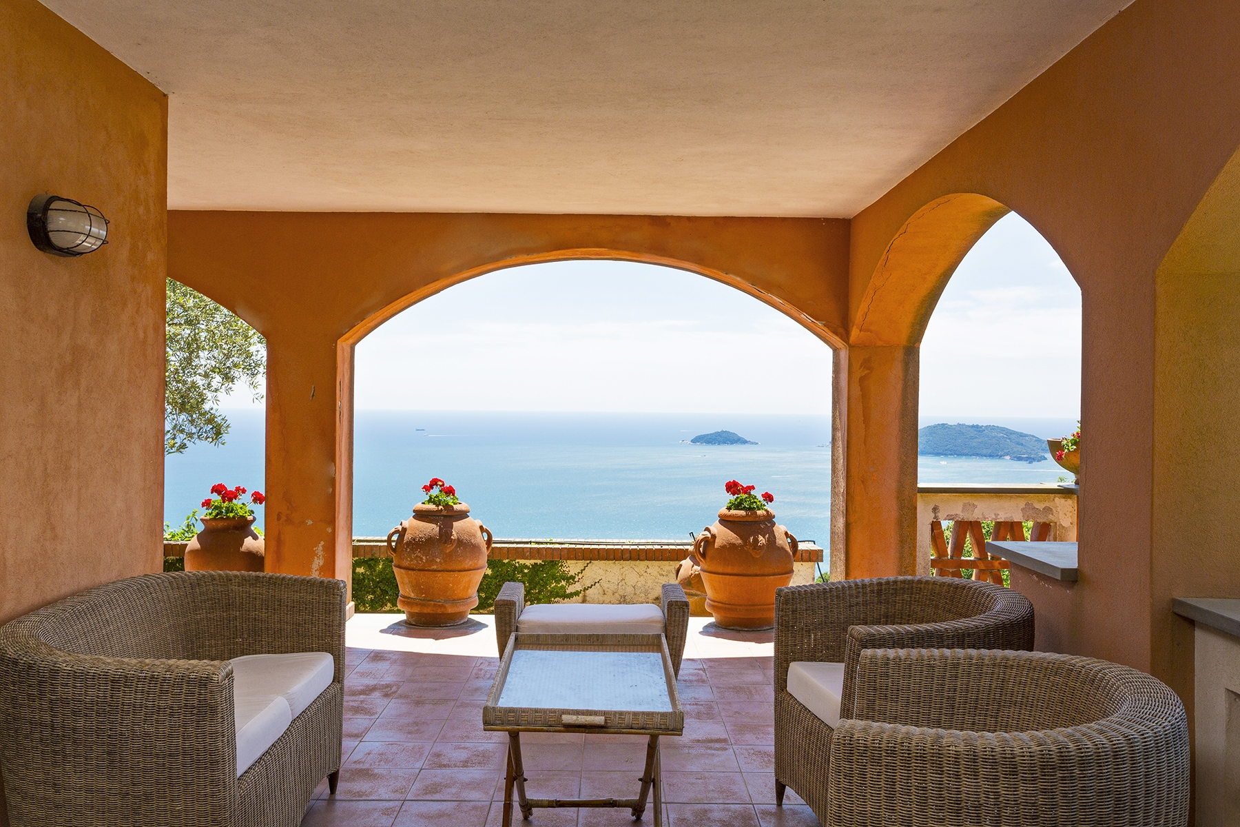 Other Residential Homes for Sale at Wonderful villa with breathtaking view over the sea Lerici, La Spezia Italy