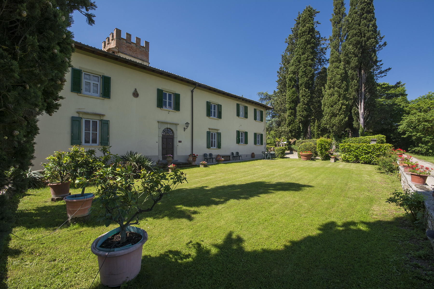 Other Residential Homes for Sale at Fascinating villa in the Val di Sieve area Borgo San Lorenzo, Florence Italy