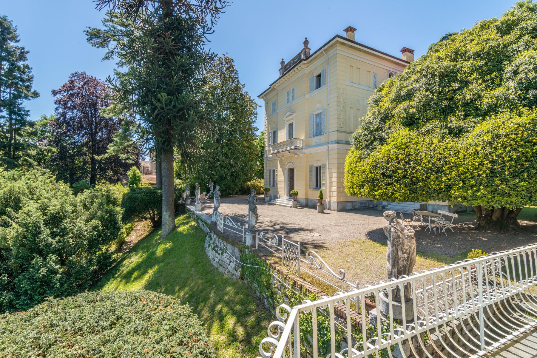 Property for Sale at Enchanting Villa overlooking Orta Lake Pella, Novara Italy