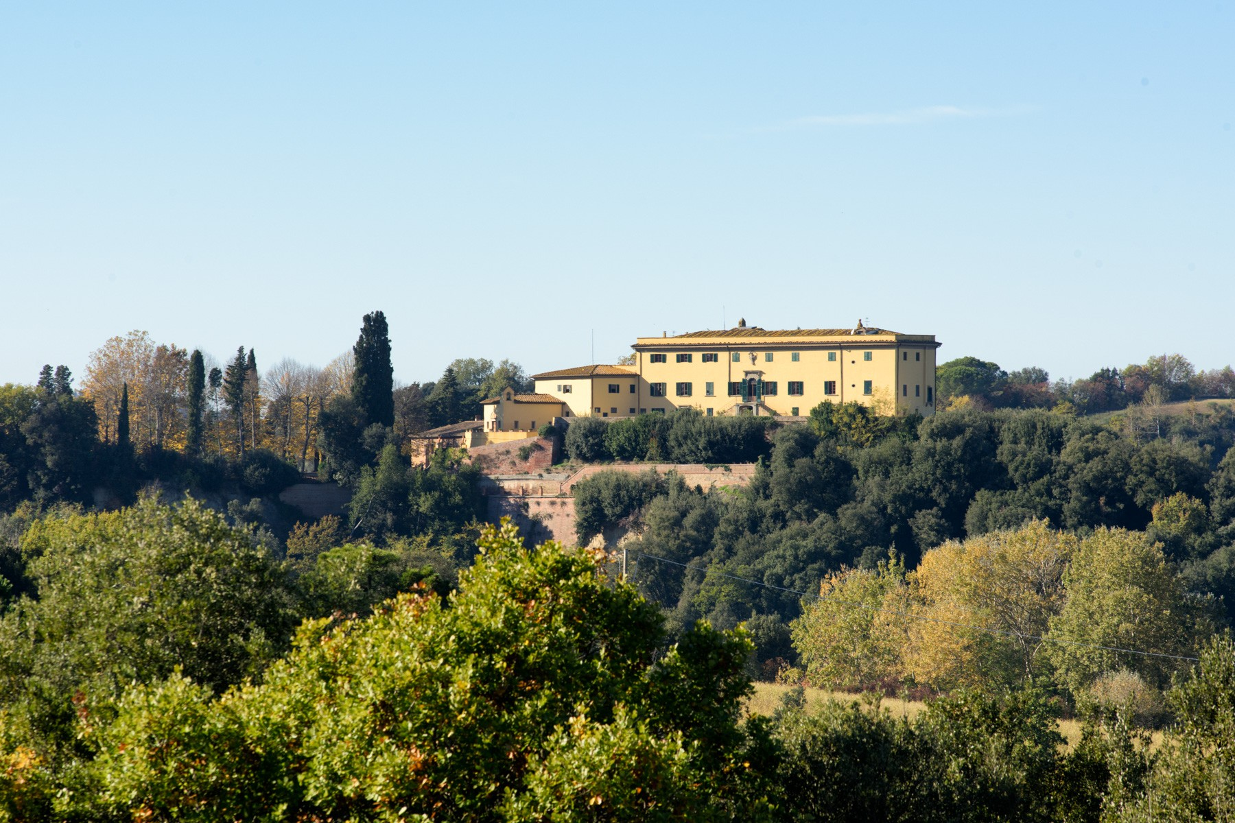Other Residential for Sale at Wonderful villa surrounded by historic hamlet and hunting reserve Montaione, Florence, Italy