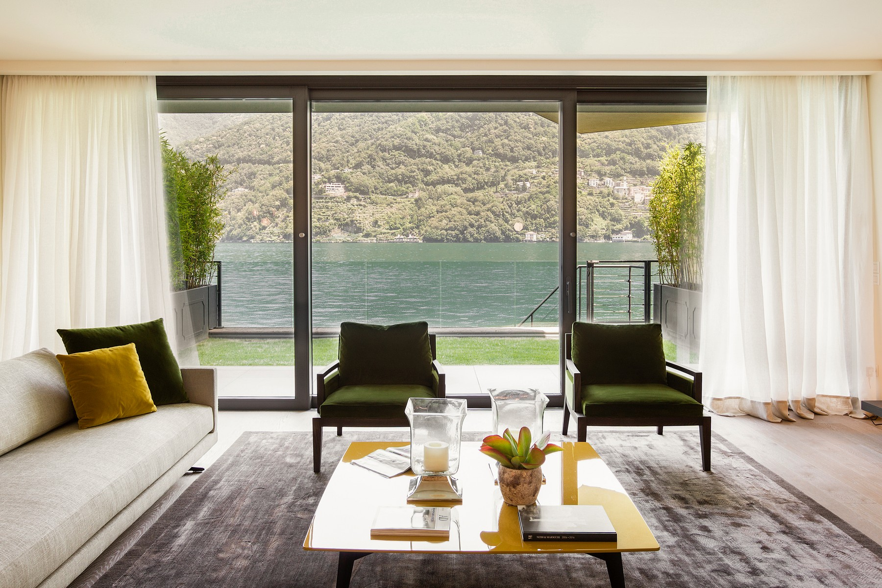 Apartments for Sale at Wonderful apartment in new building on Lake Como Laglio, Como Italy