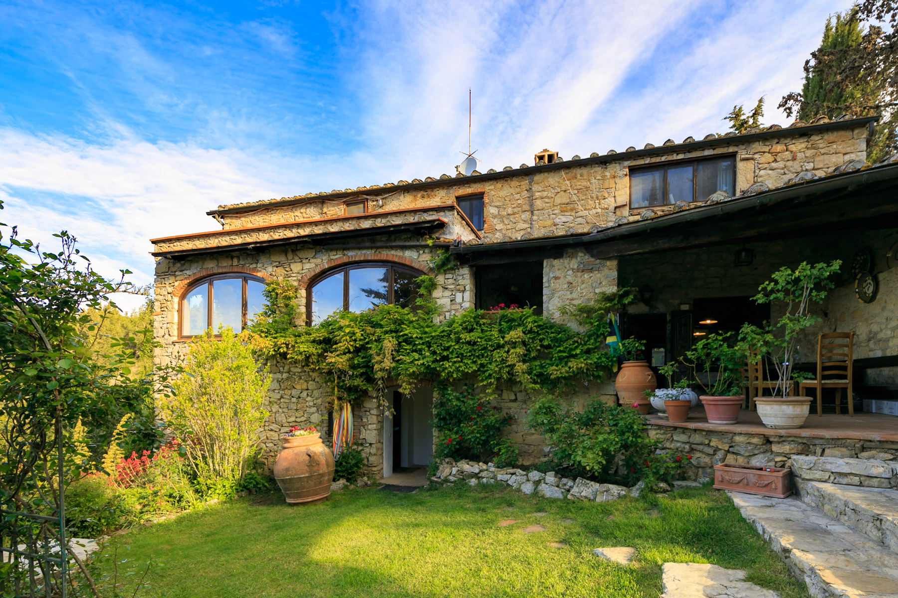 Other Residential Homes for Sale at Elegant Tuscan villa in Chianti with pool Castellina In Chianti, Siena Italy