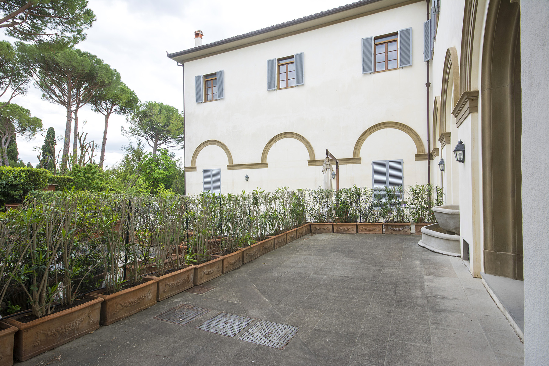 Apartments for Sale at Beautiful exclusive apartment in a historic villa Sesto Fiorentino, Florence Italy